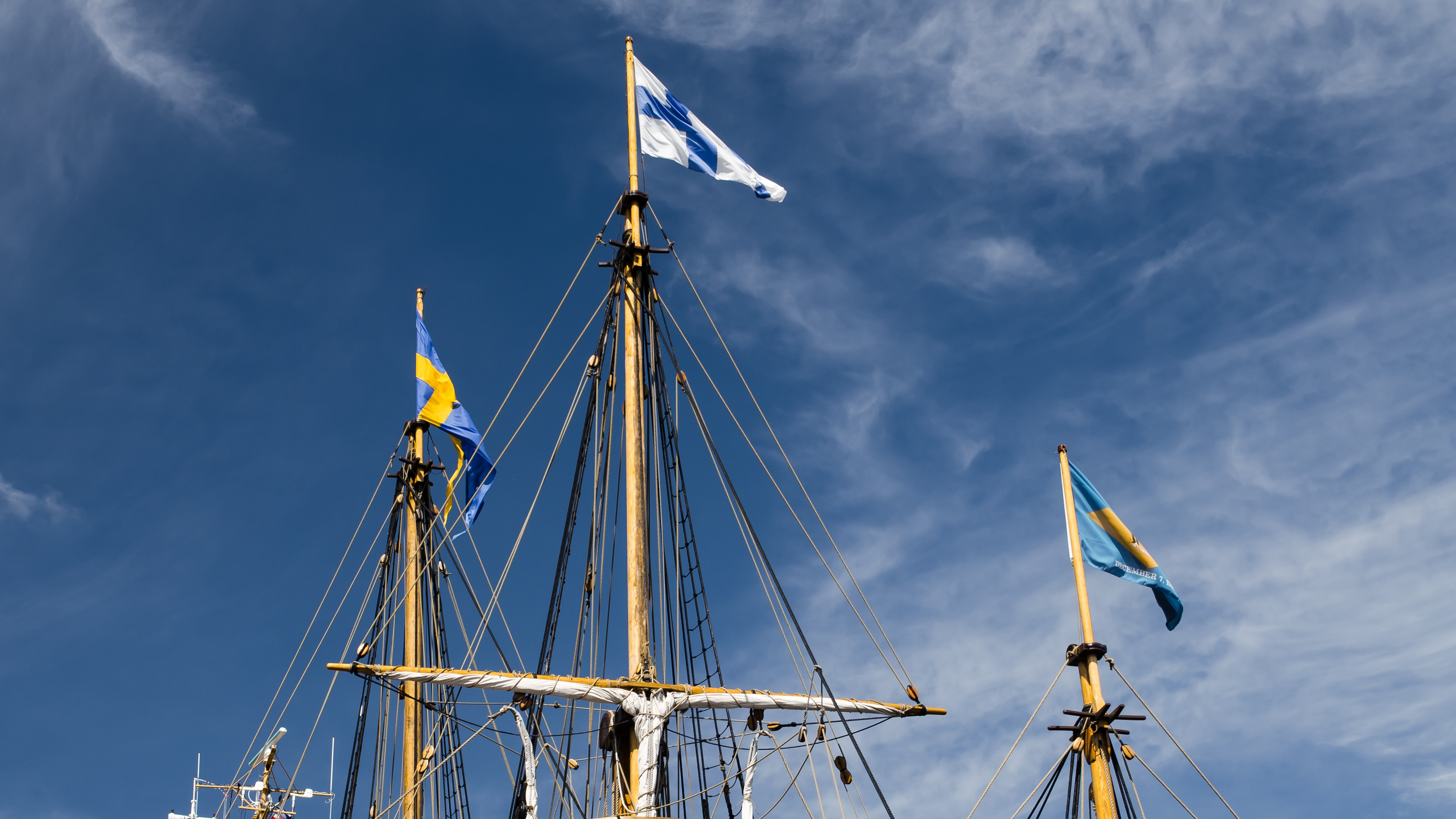 The Ship, Boat, Flag, Journey, Sea, HQ Photo