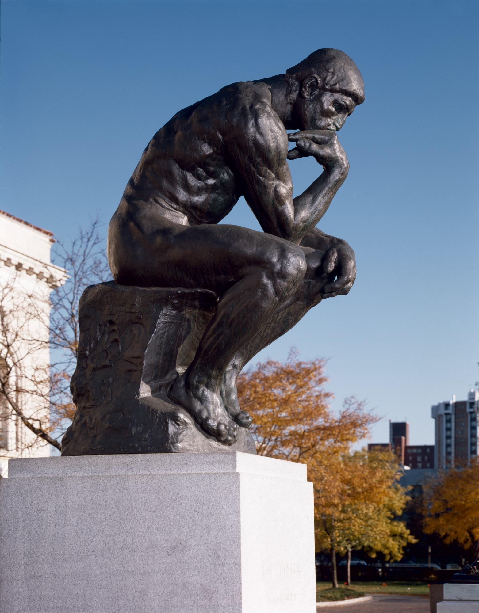 The Thinker   Detroit Institute of Arts Museum