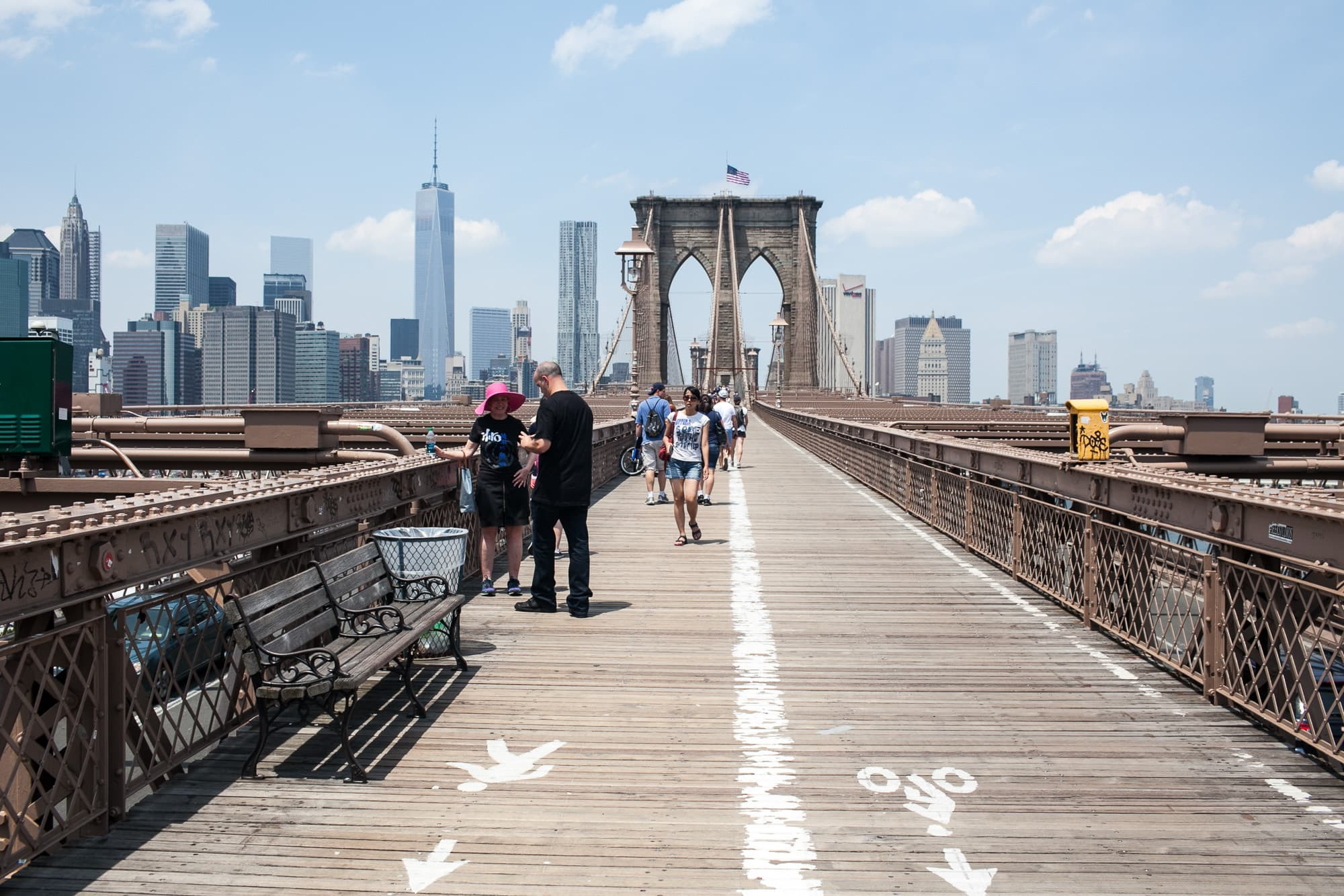 Life List #183: Walk across the Brooklyn Bridge. • Choosing Figs