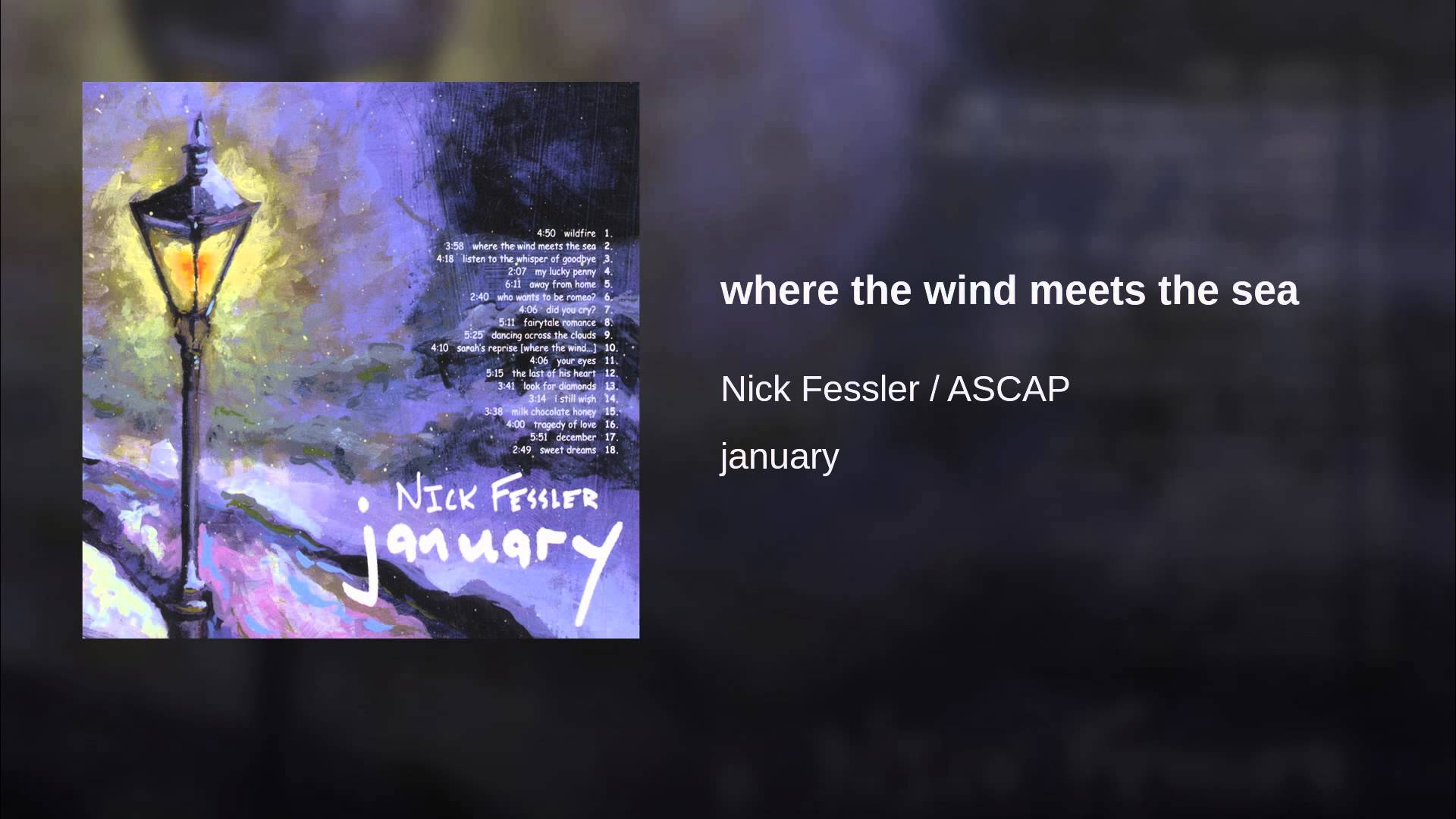 where the wind meets the sea - YouTube