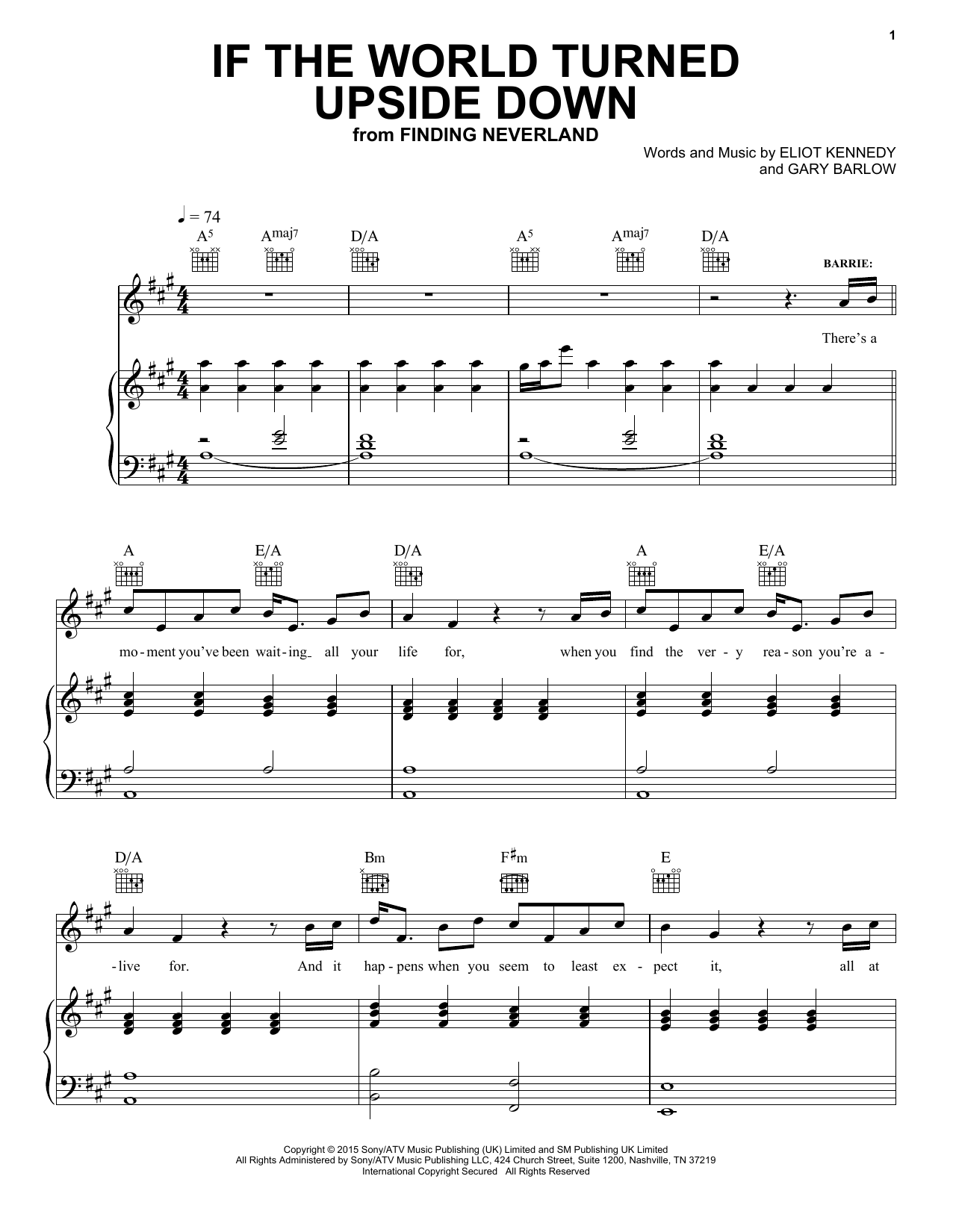 If The World Turned Upside Down | Sheet Music Direct