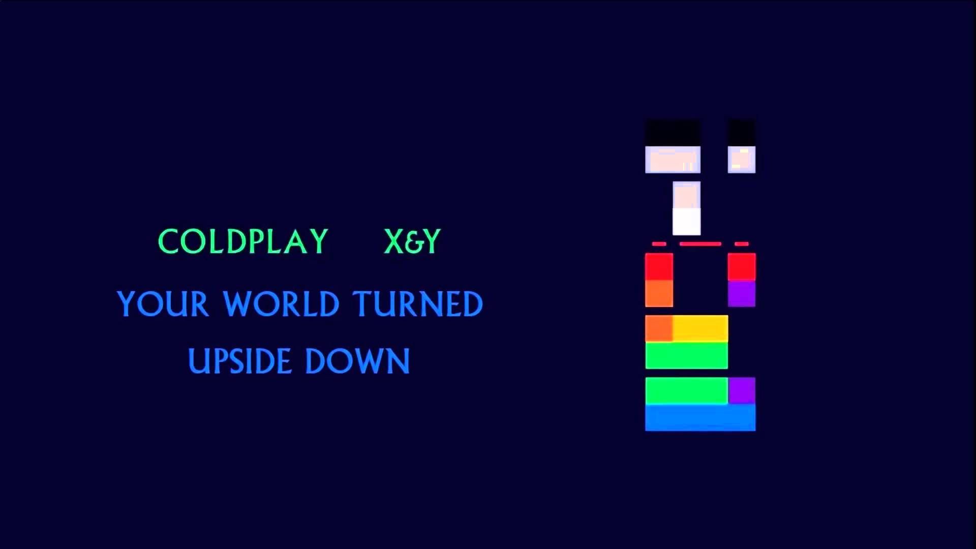 Coldplay - Your World Turned Upside Down (X&Y) - YouTube