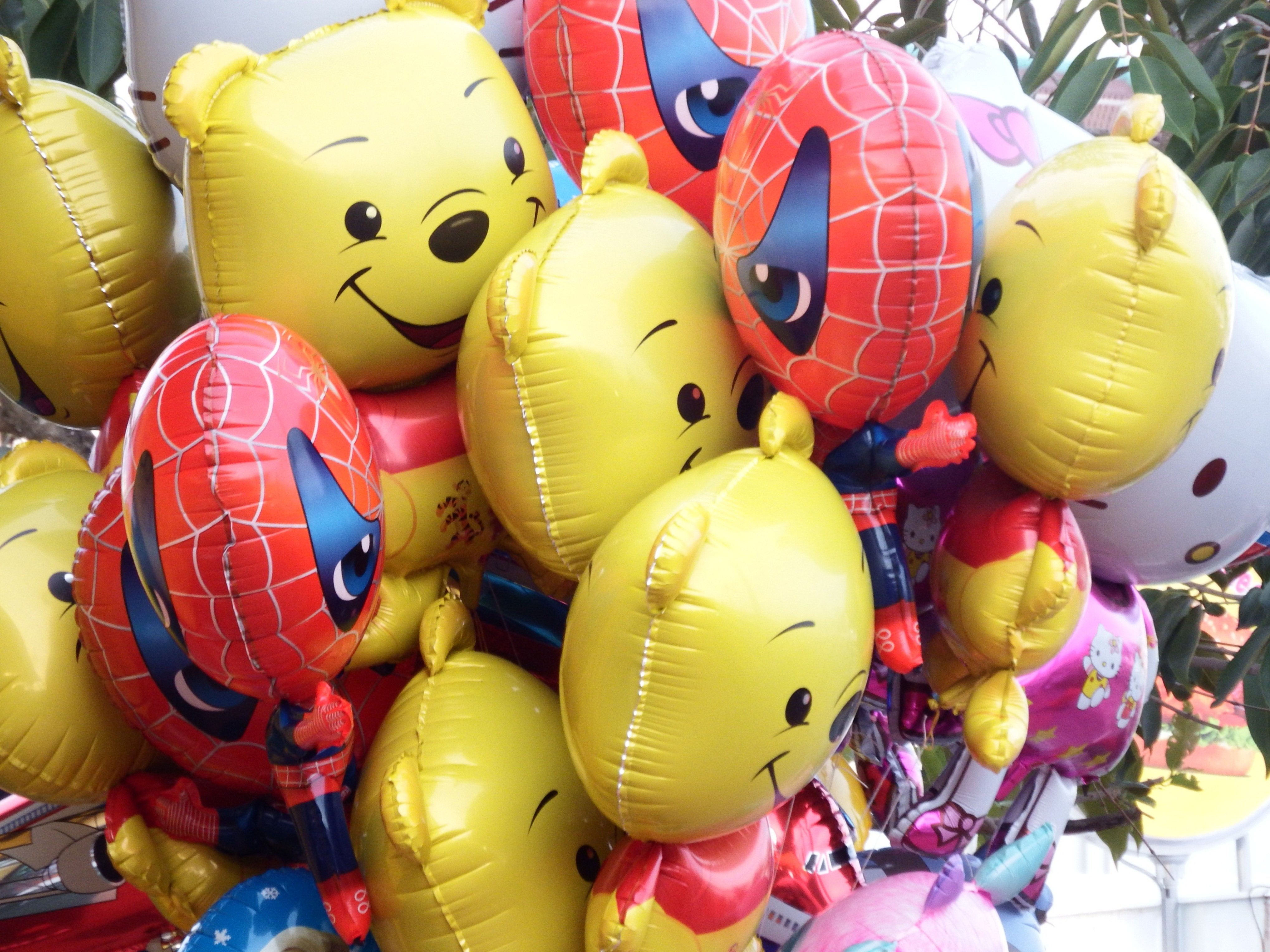 Themed balloons for kids photo