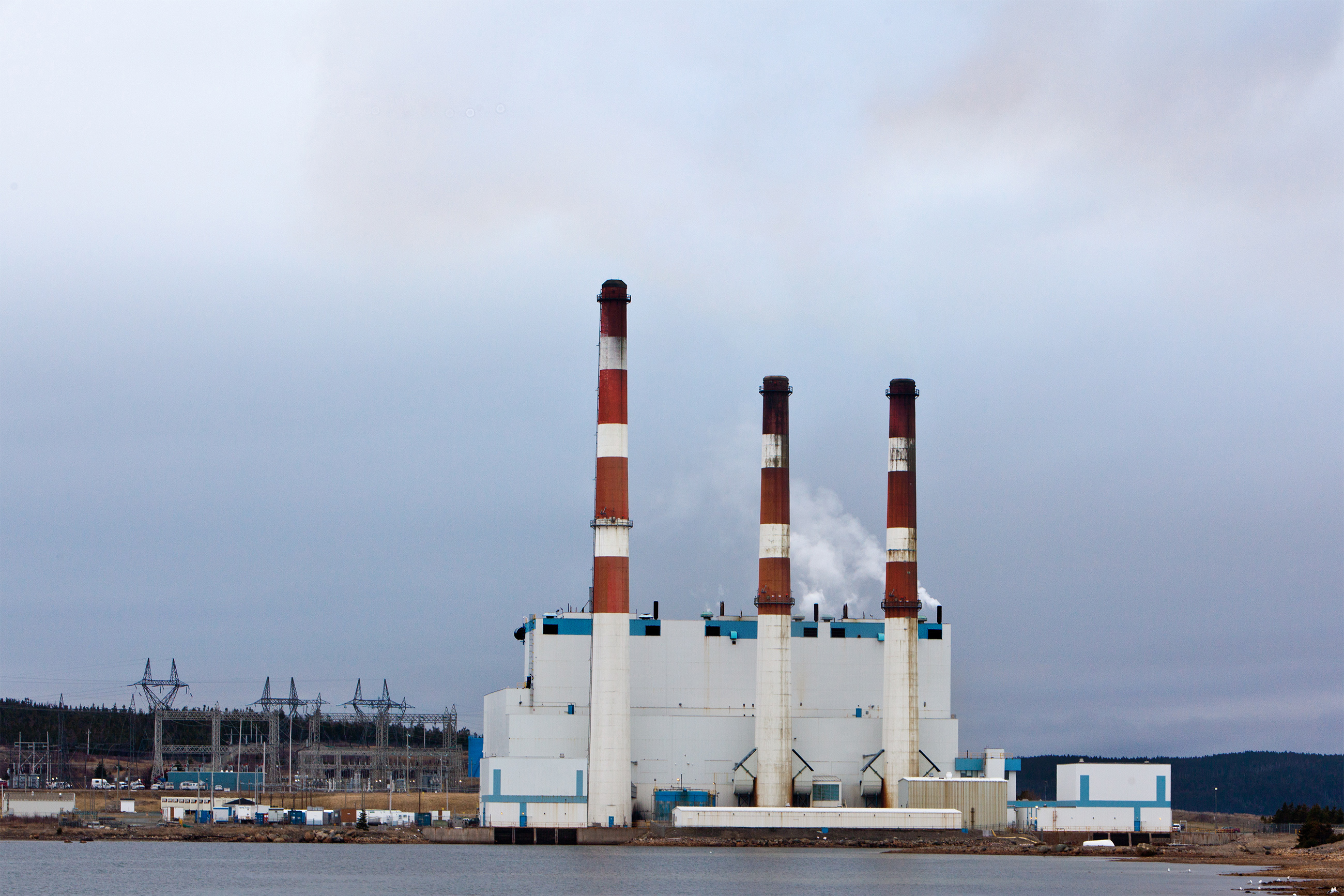 Thermal electric plant photo