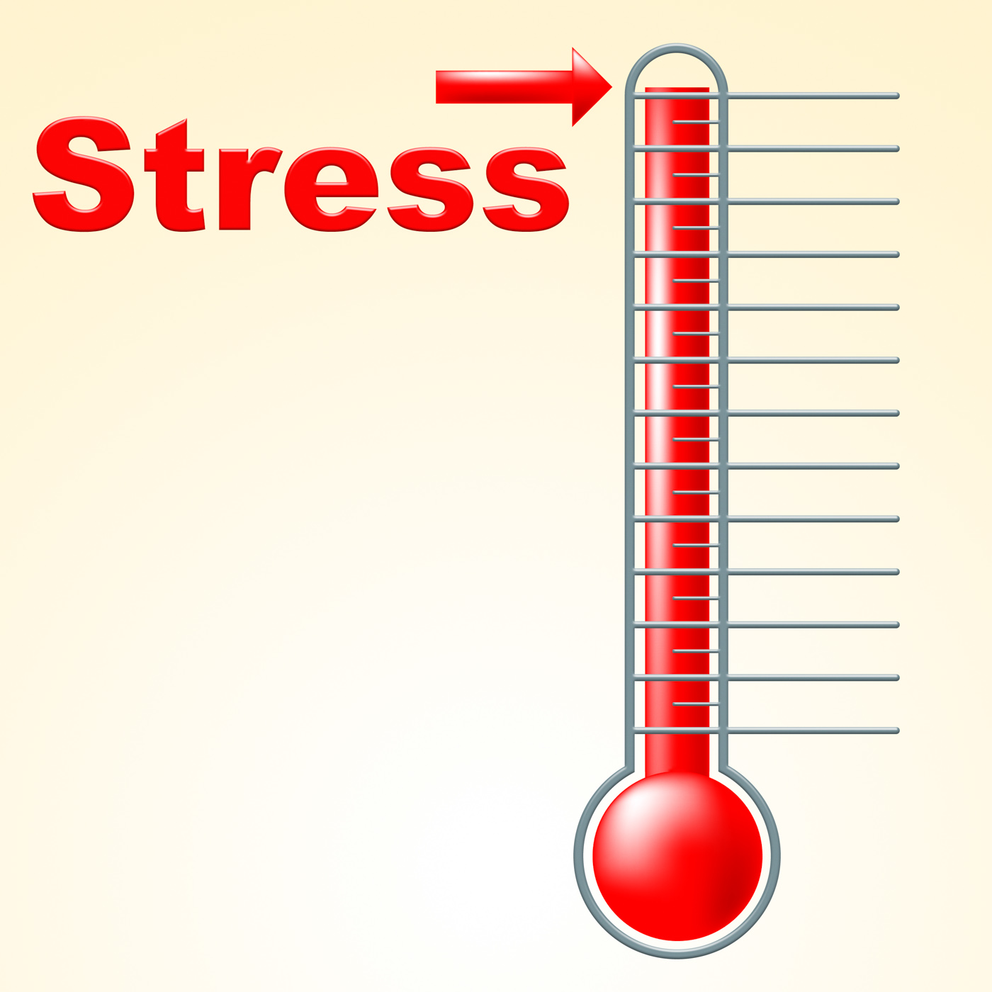 Thermometer Stress Means Tension Celsius And Thermostat, Celsius, Scale, Thermometer, Tension, HQ Photo