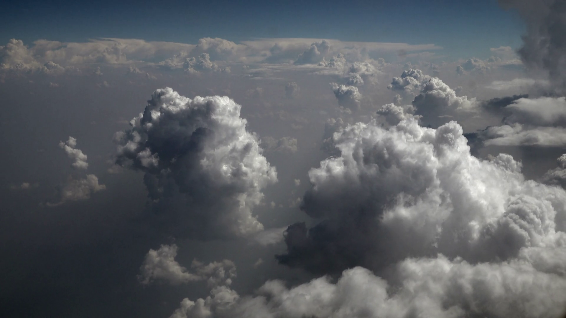 Thick clouds photo