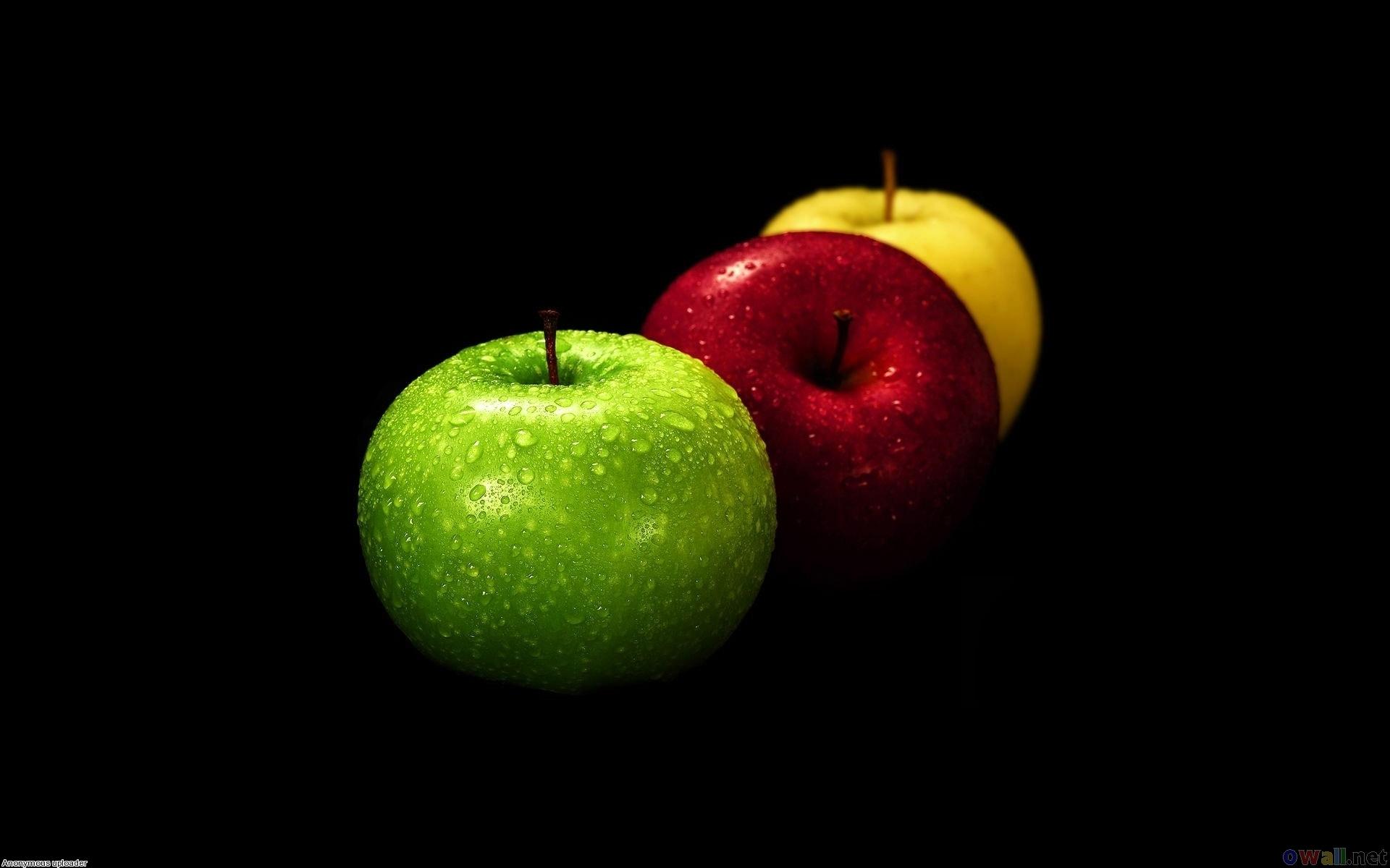 Three apples photo
