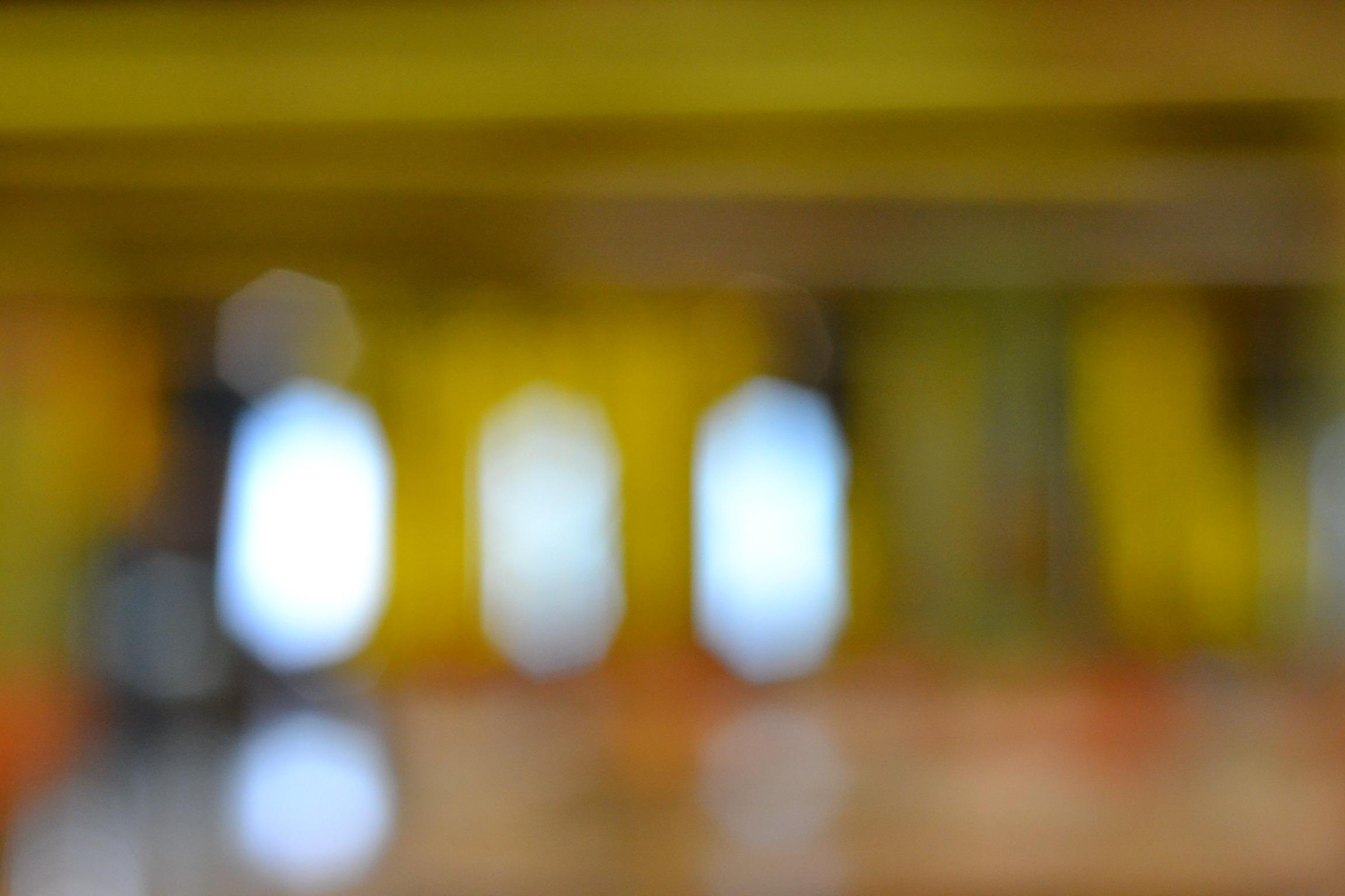 Three Blurry Lights, Blur, Effect, Light, Shine, HQ Photo