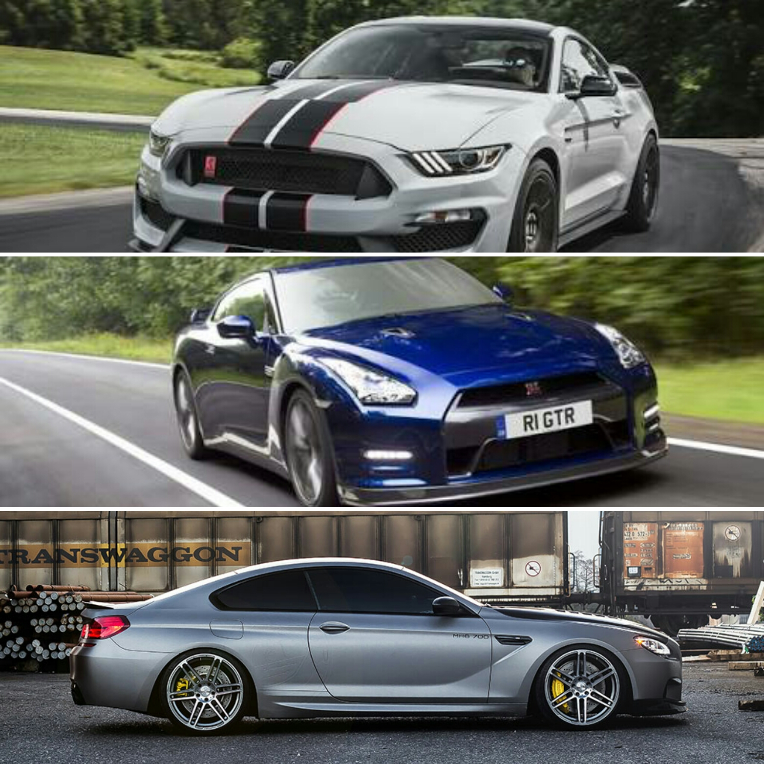 If you could have a three car garage that included one car from the ...