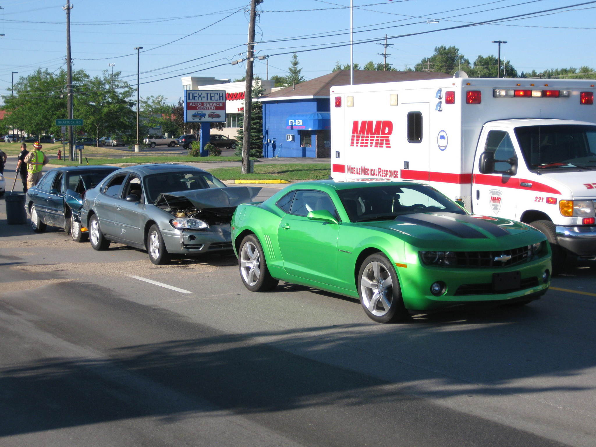 3 Car Pile Up Accident   Who is at Fault   Liability
