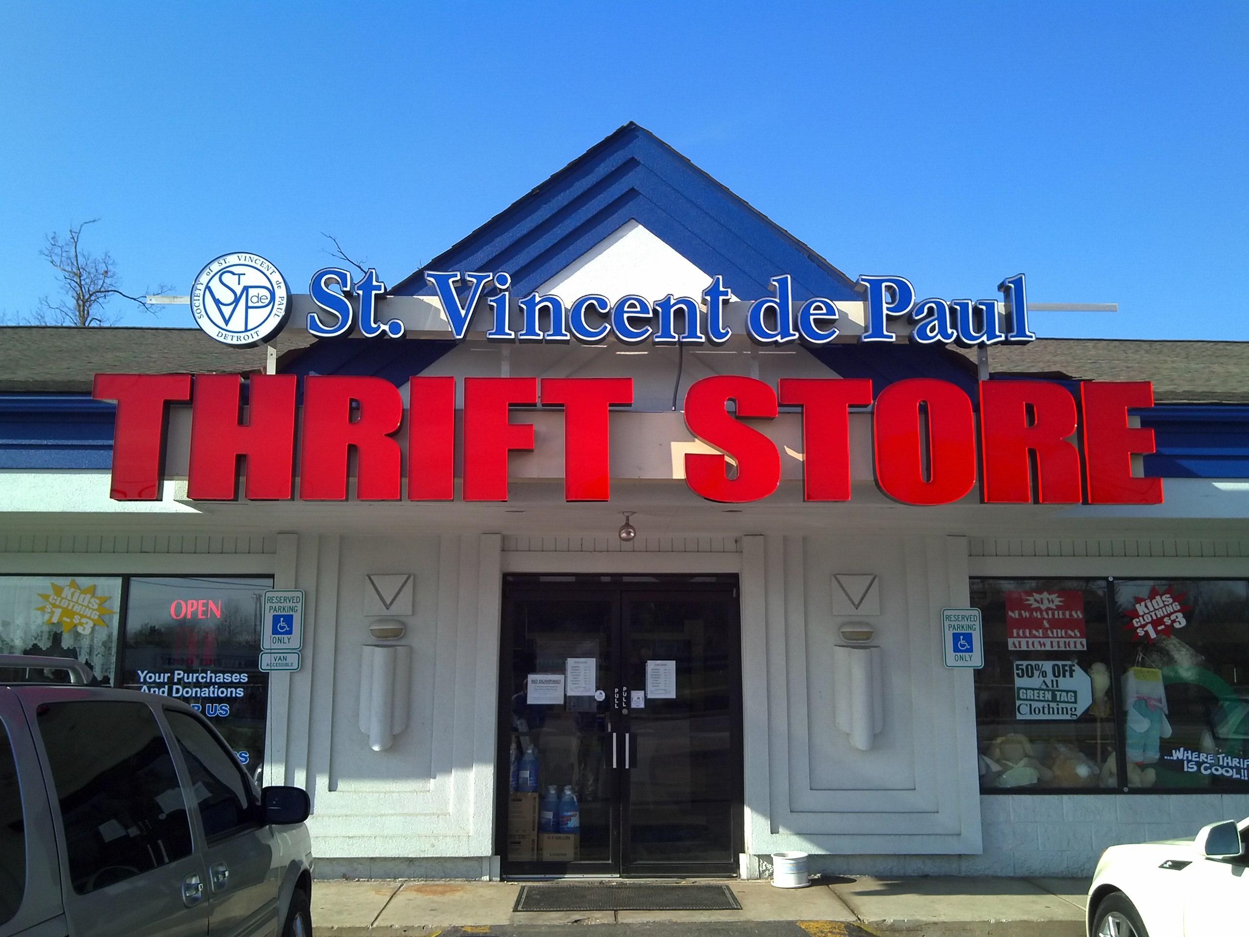 Thrift Stores | St. Vincent de Paul Detroit
