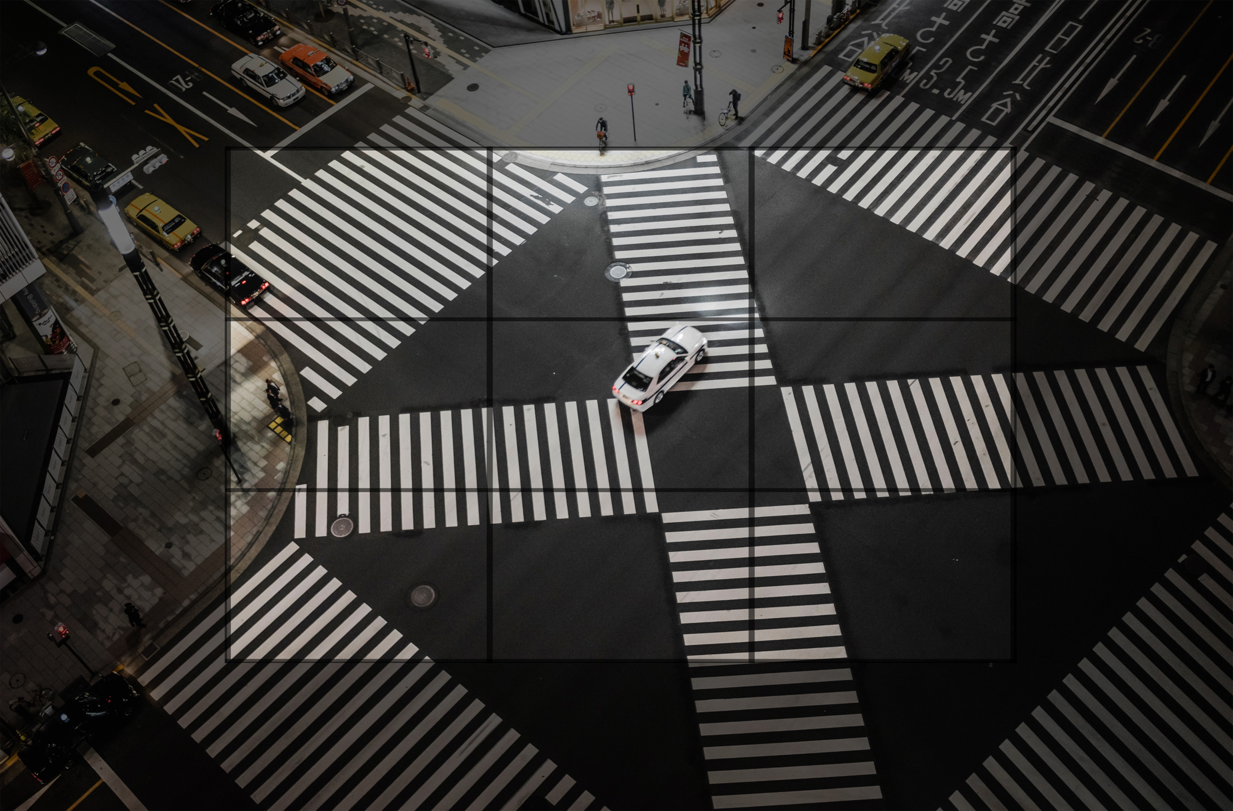 Through the lens - the urban landscape - rule of thirds - tokyo photo
