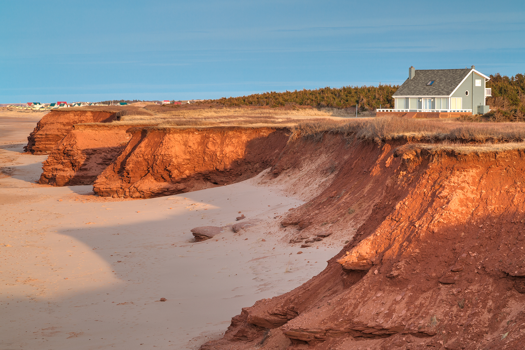 Thunder Cove Beach Cliffs - HDR, Angle, Perspective, Rural, Rugged, HQ Photo