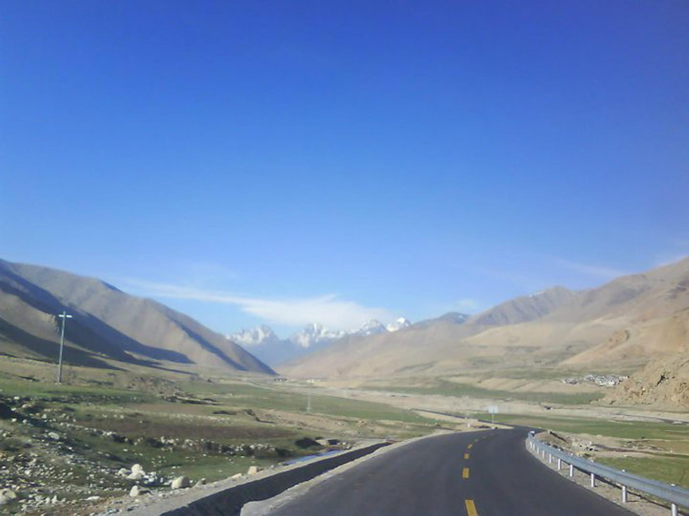 Tibet Road, Street, Tibet, Sky, Road, HQ Photo