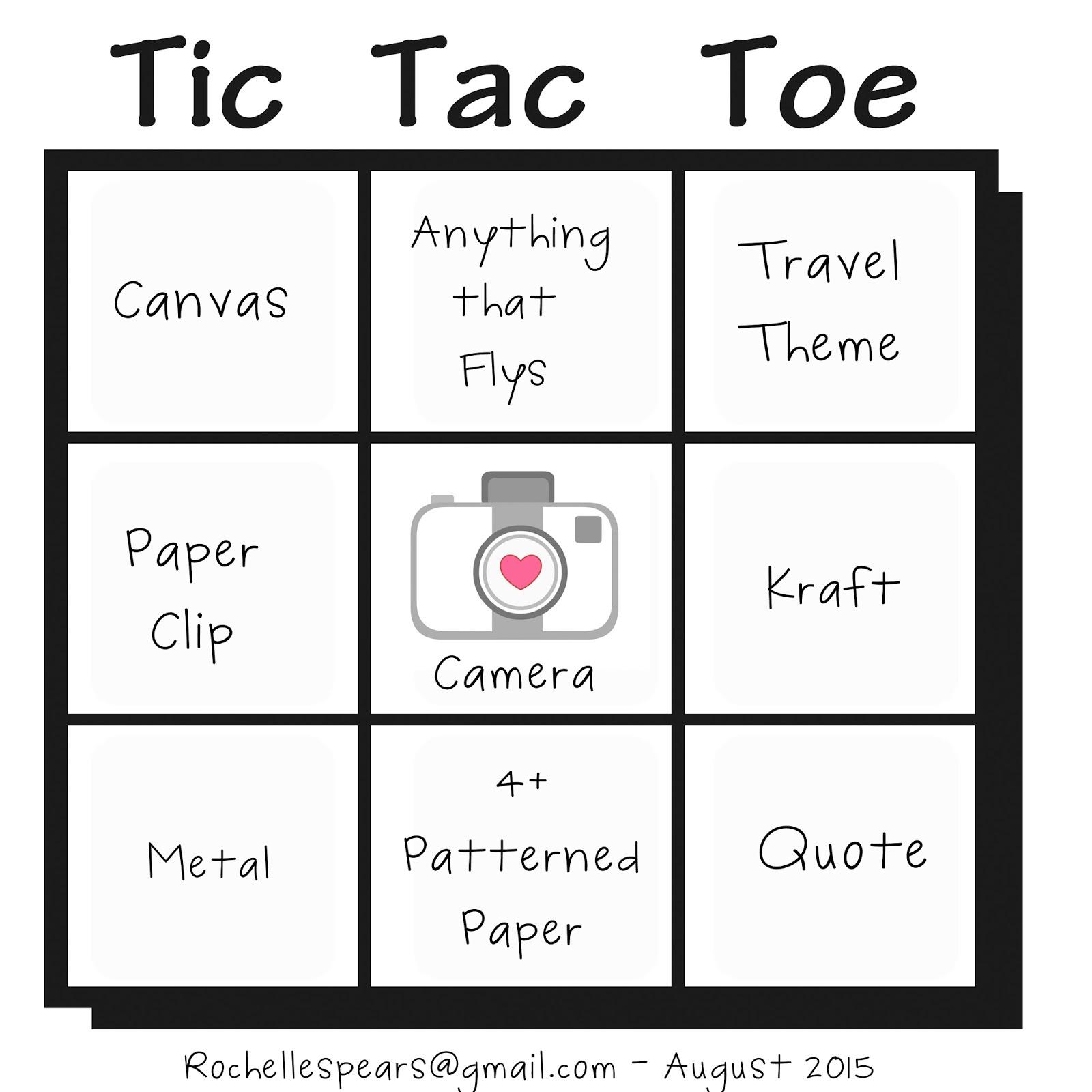 Tic tac toe photo