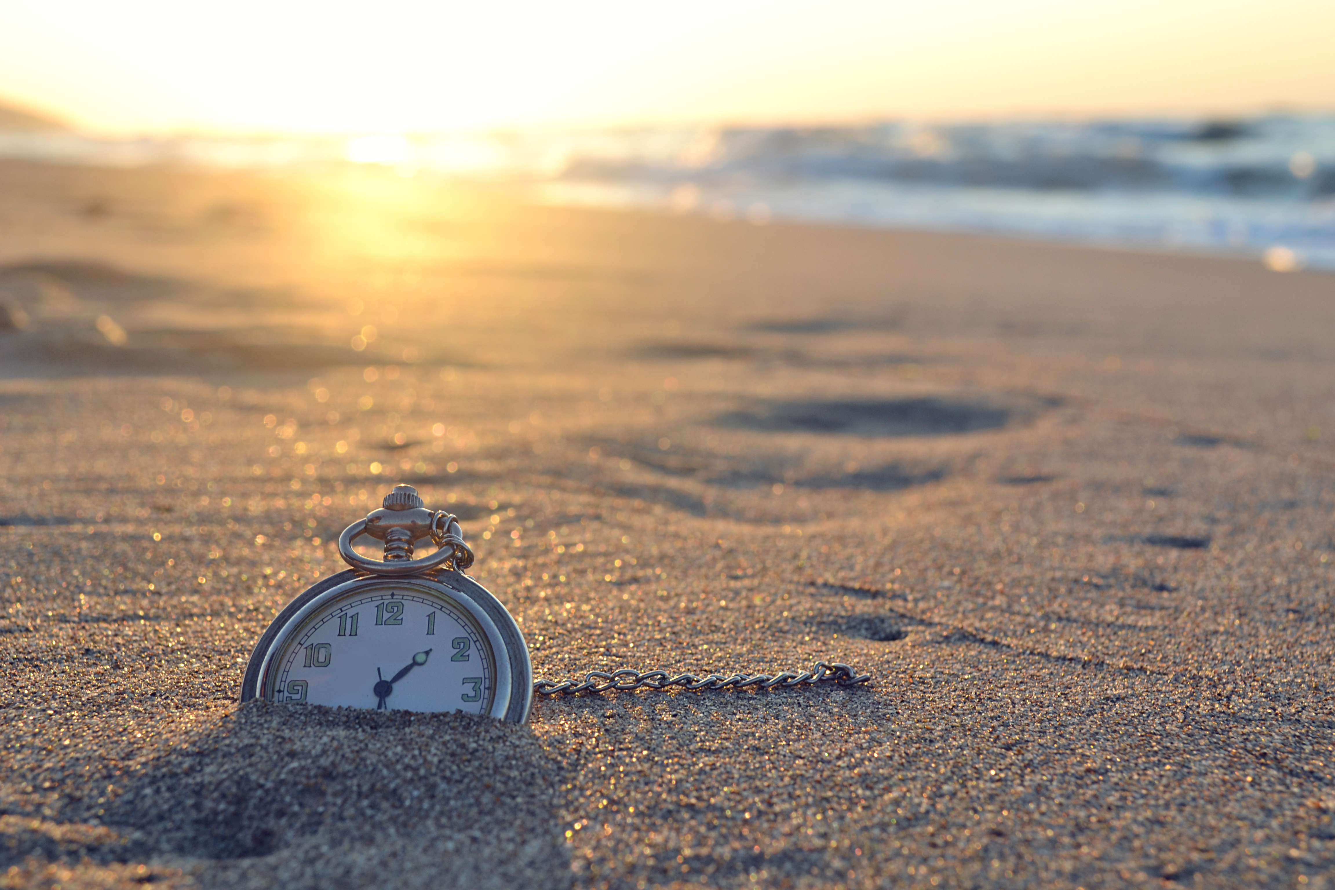 Time, Beach, Clock, Lost, Old, HQ Photo