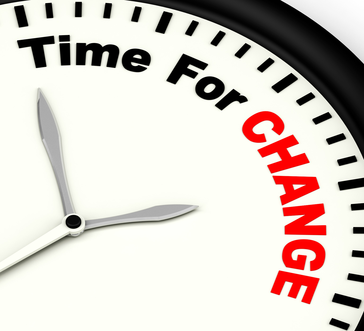 Time for change meaning different strategy or vary photo