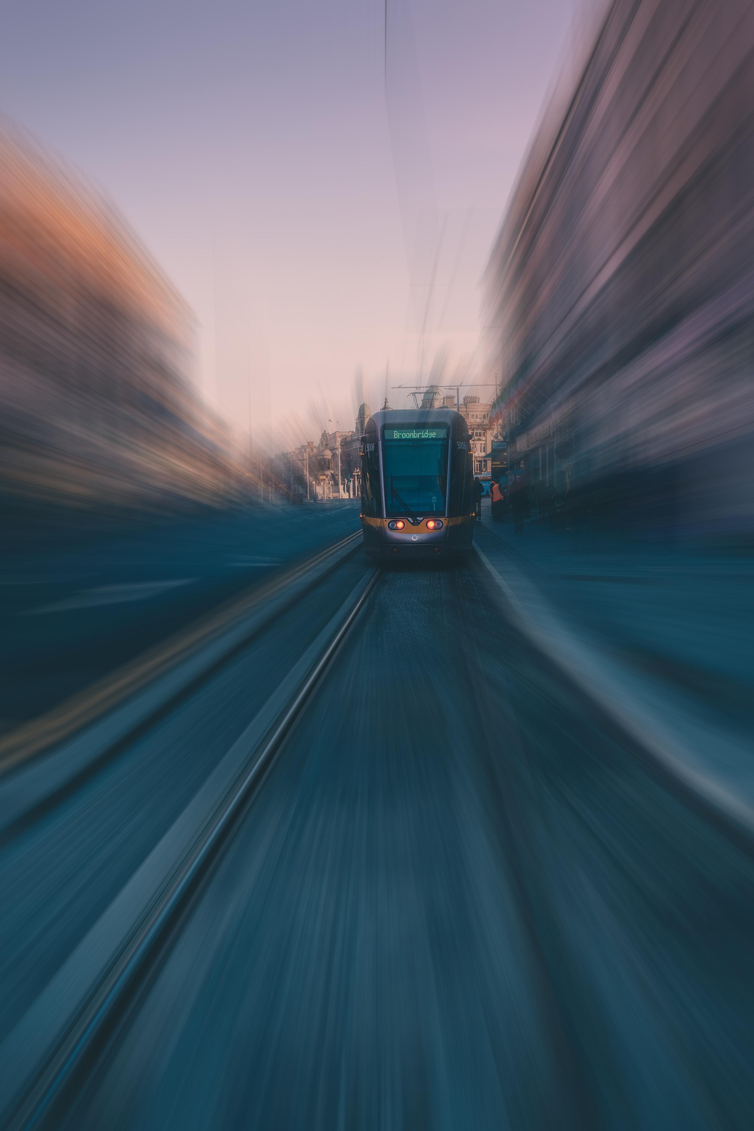 Time Lapse Photo Of Black Vehicle, Action, Movement, Travel, Transportation system, HQ Photo