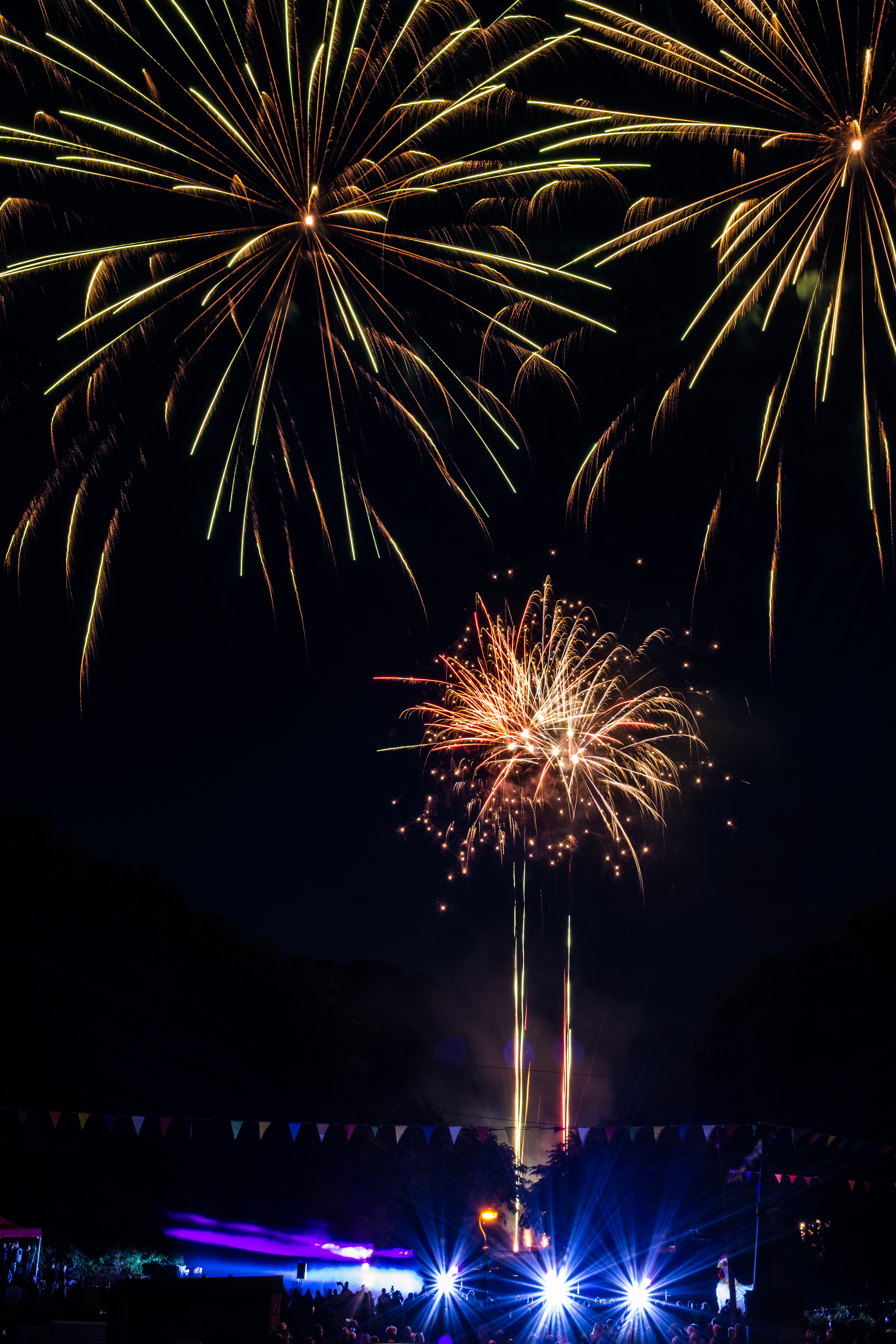 Time-lapse Photography of Fireworks, Bright, Light, Sparkling, Sky, HQ Photo