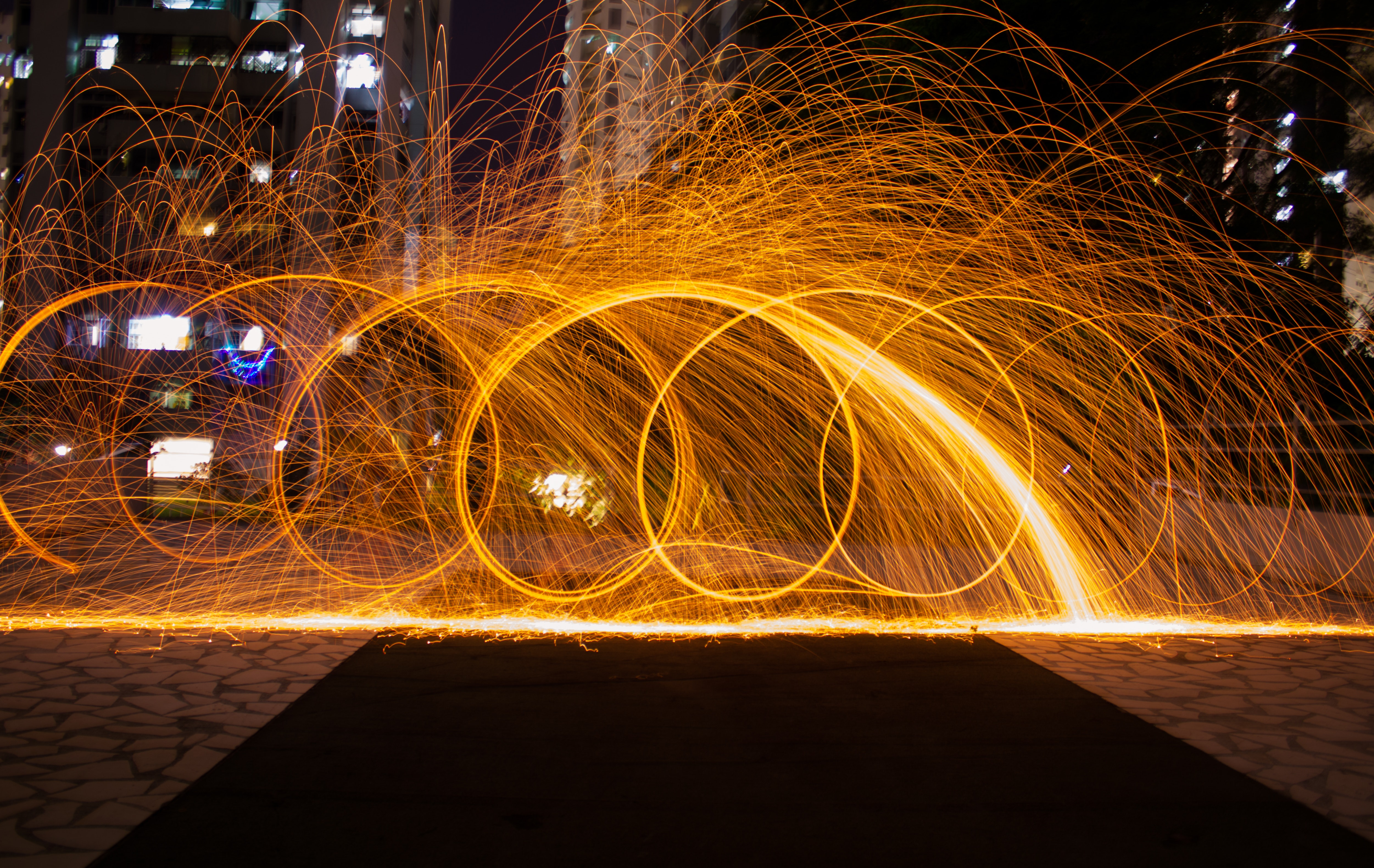 Time-lapsed Photography of Fire Crackers, Abstract, Motion, Time-lapse, Texture, HQ Photo