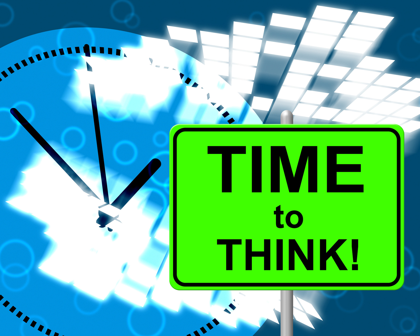 Time To Think Represents At Present And Consider, About, Justnow, Thinking, Thinkaboutit, HQ Photo
