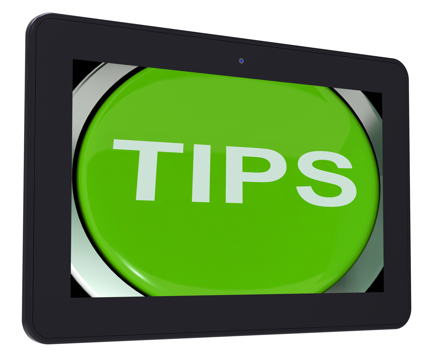 Tips switch shows help suggestions or instructions photo
