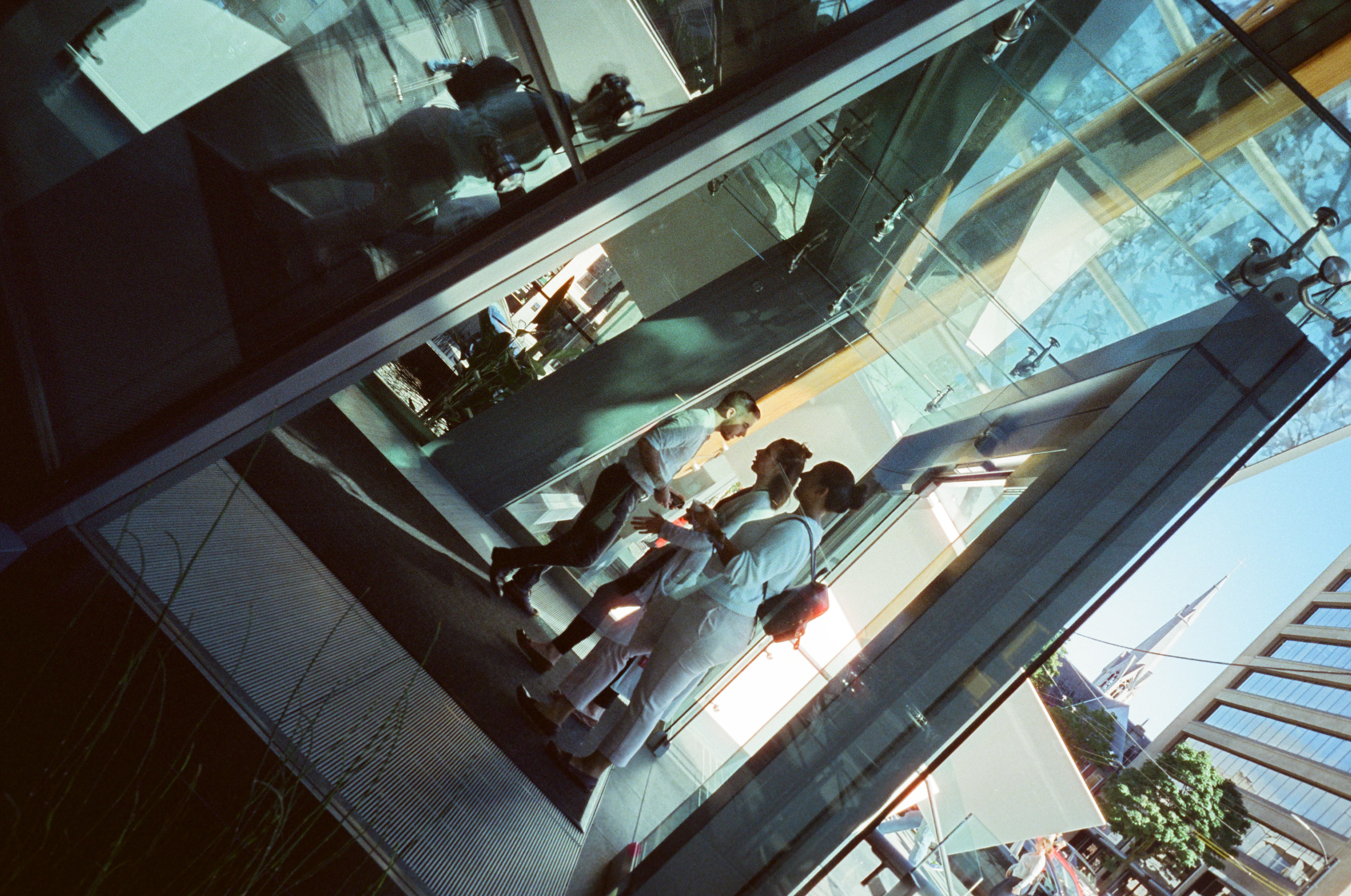 To and fro, Film, Filmisnotdead, Leicam4, People, HQ Photo