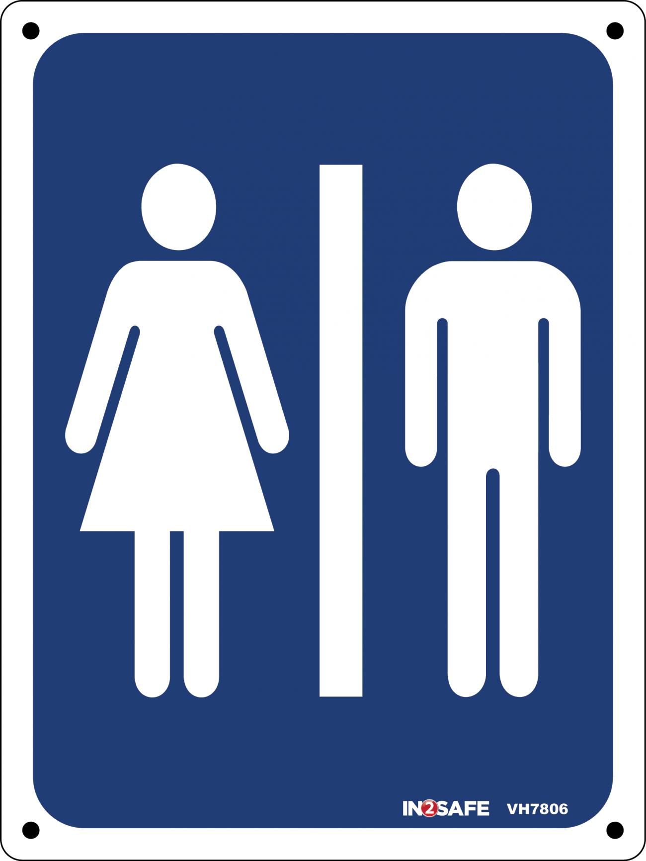 Mens/Ladies Toilet Sign