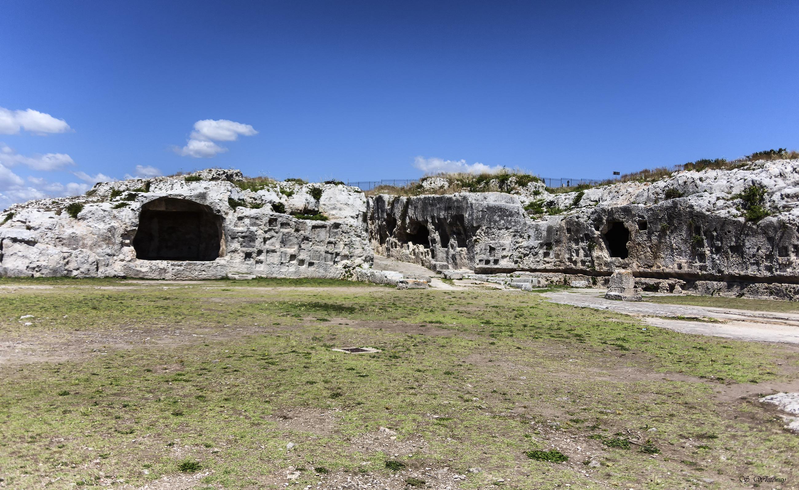 Tombs, Ancient, Greek, Sunrise, Sunbeams, HQ Photo