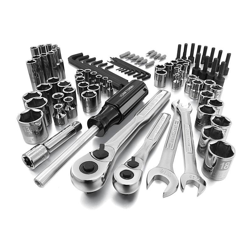 Craftsman - 37094 - 94 pc. Easy-To-Read Mechanics Tool Set | Sears ...