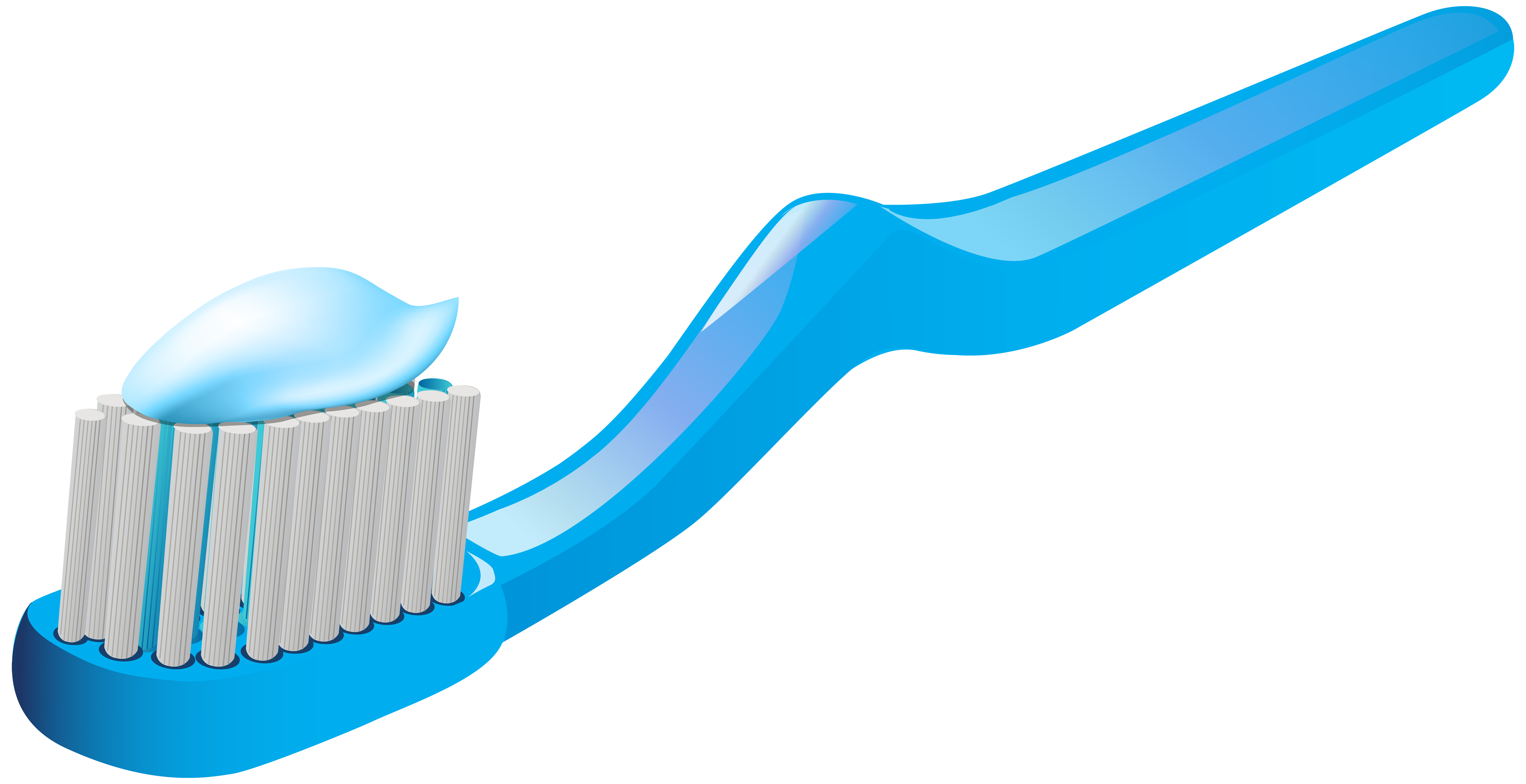 Toothbrush and Toothpaste PNG Clip Art - Best WEB Clipart