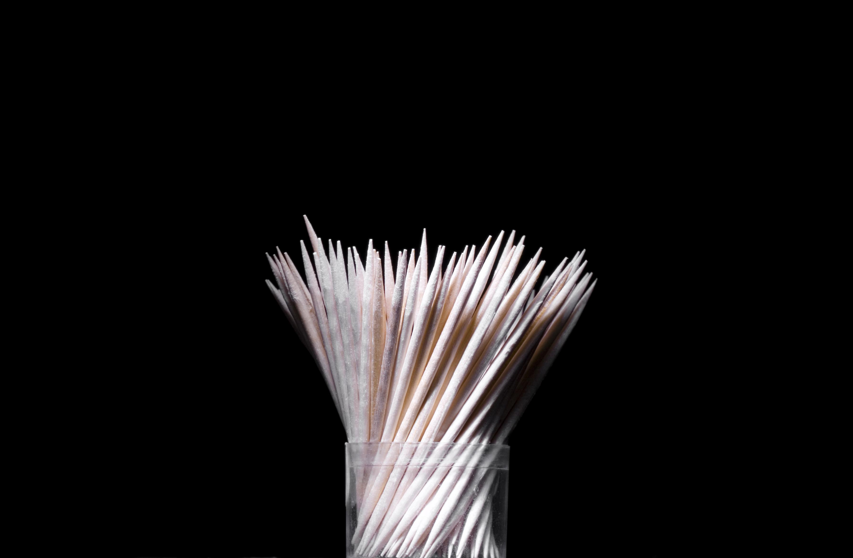 Toothpick photo