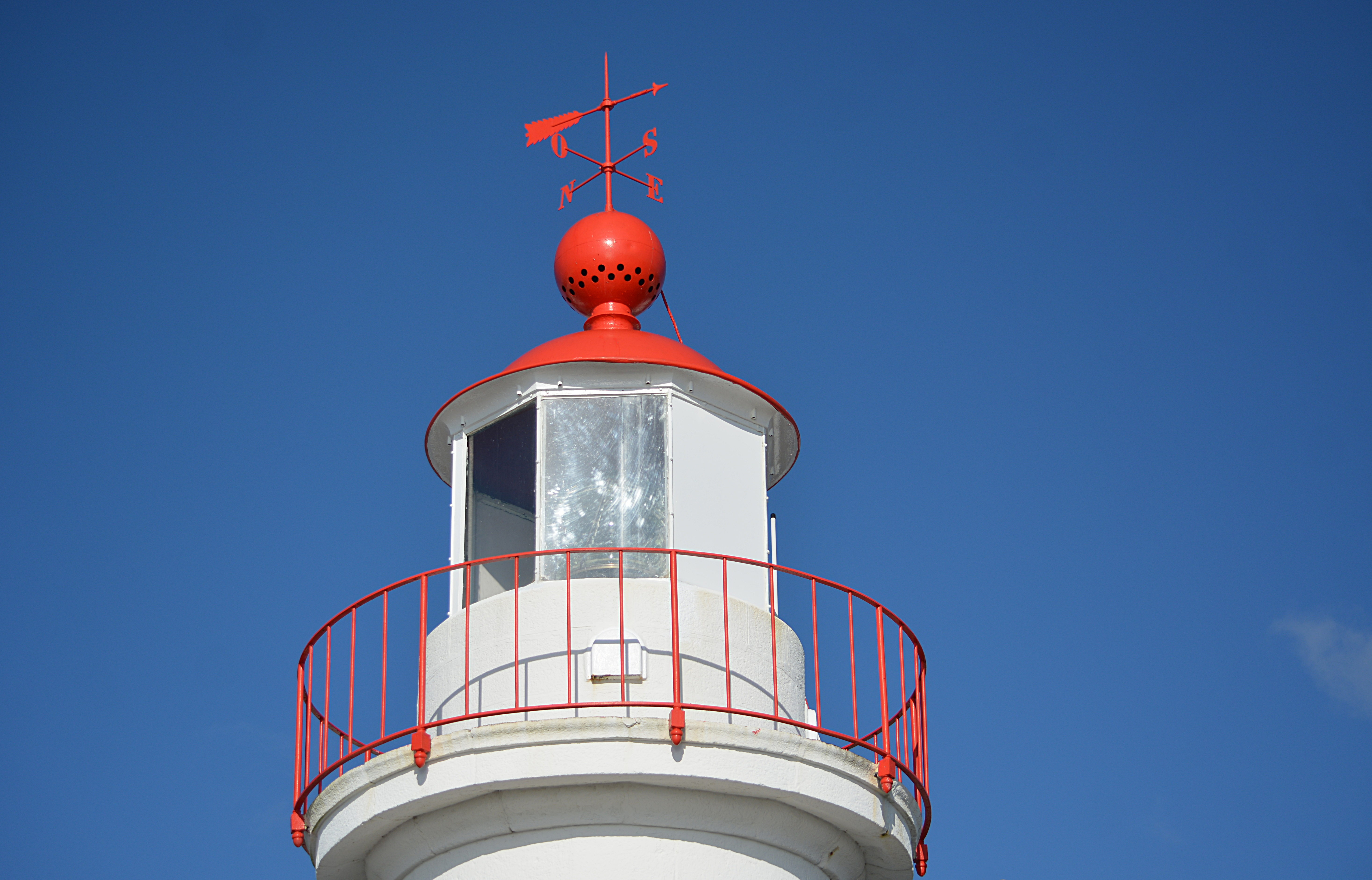 Top of a lighthouse photo