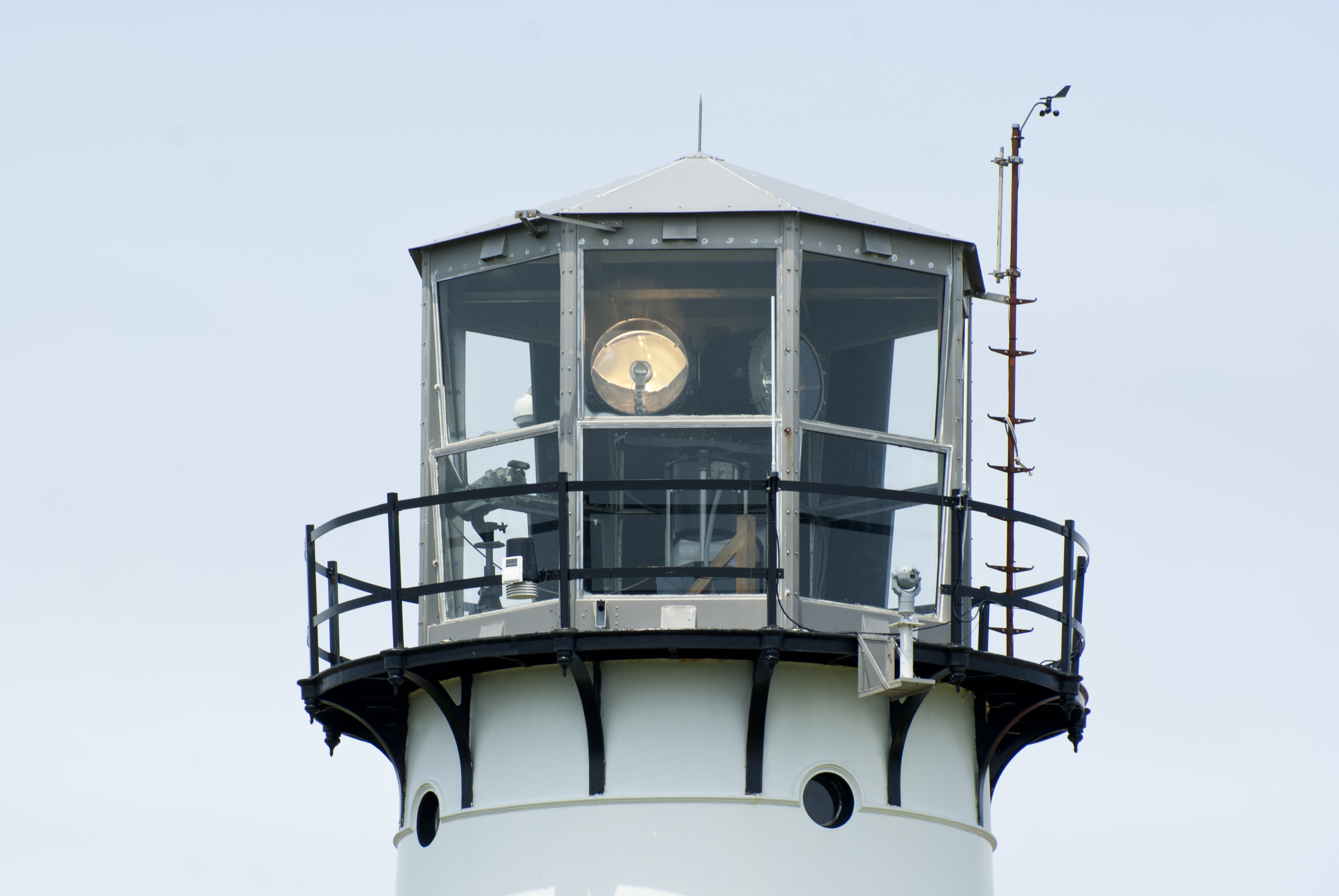 Top Of A Lighthouse, Architecture, Stone, Old, Outdoors, HQ Photo
