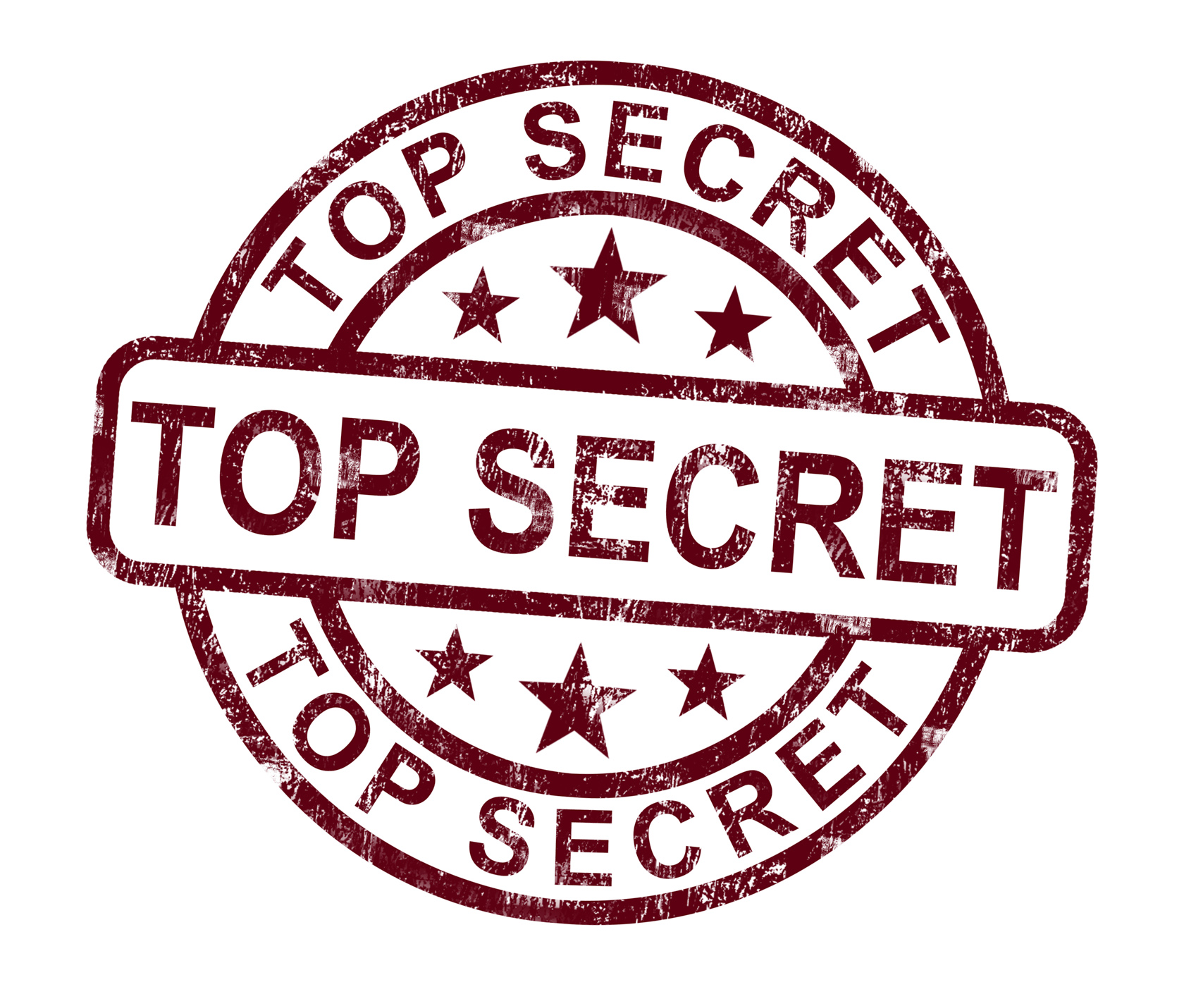 Top Secret Stamp Shows Classified Private Correspondence, Authorized, Private, Strict, Stamp, HQ Photo