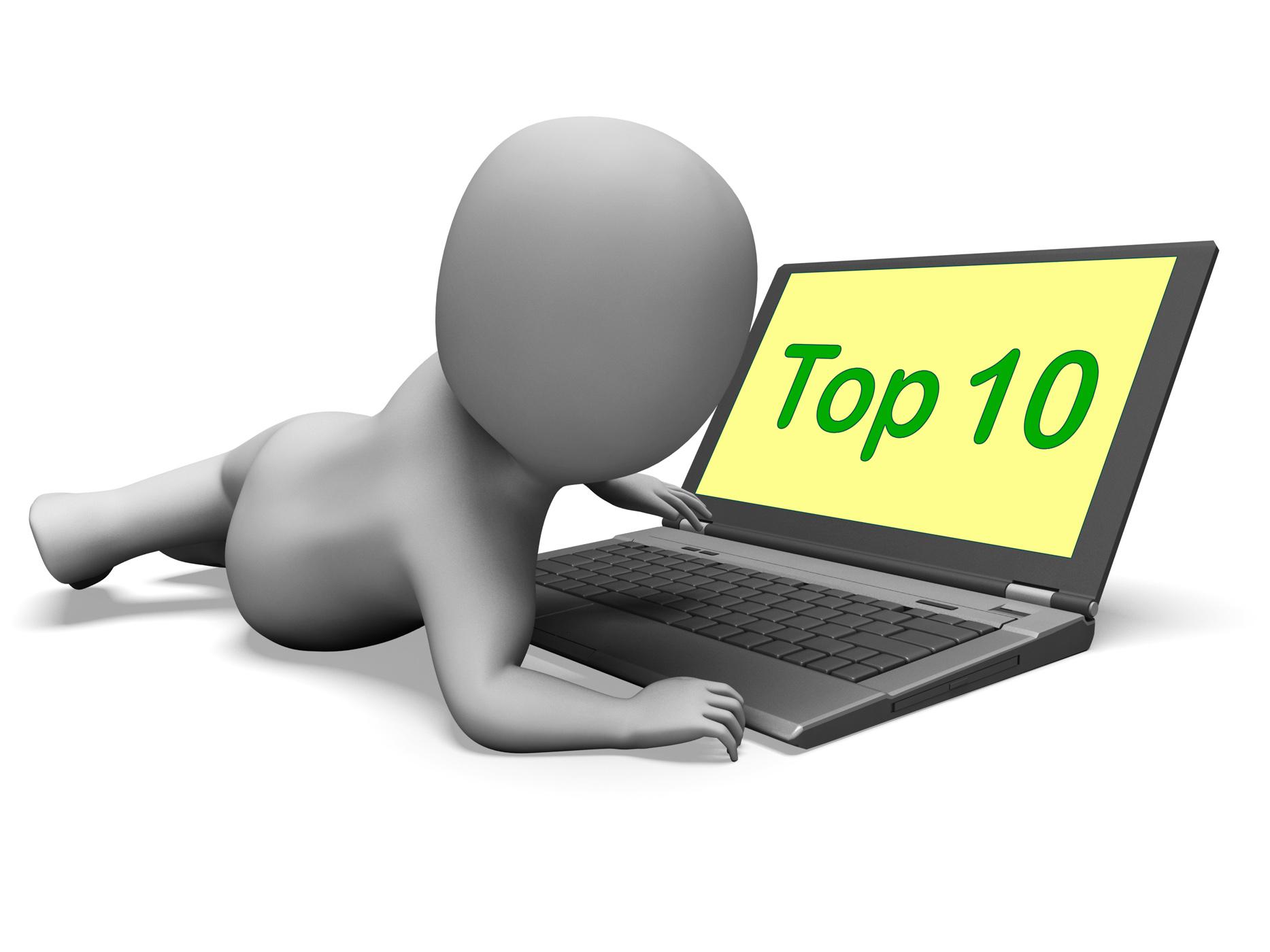 Top ten character laptop shows best top ranking photo
