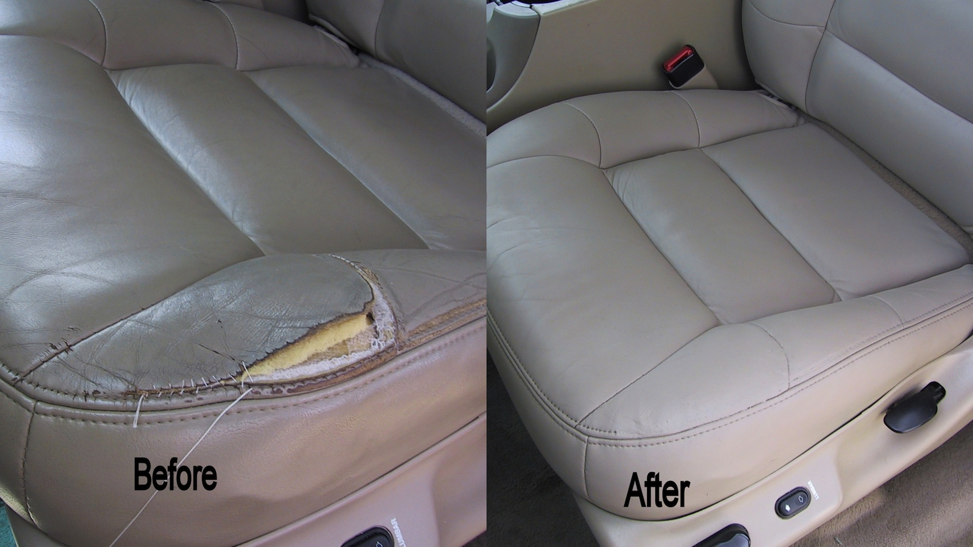 Free Photo Torn Leather Seat Ed Cut Dry
