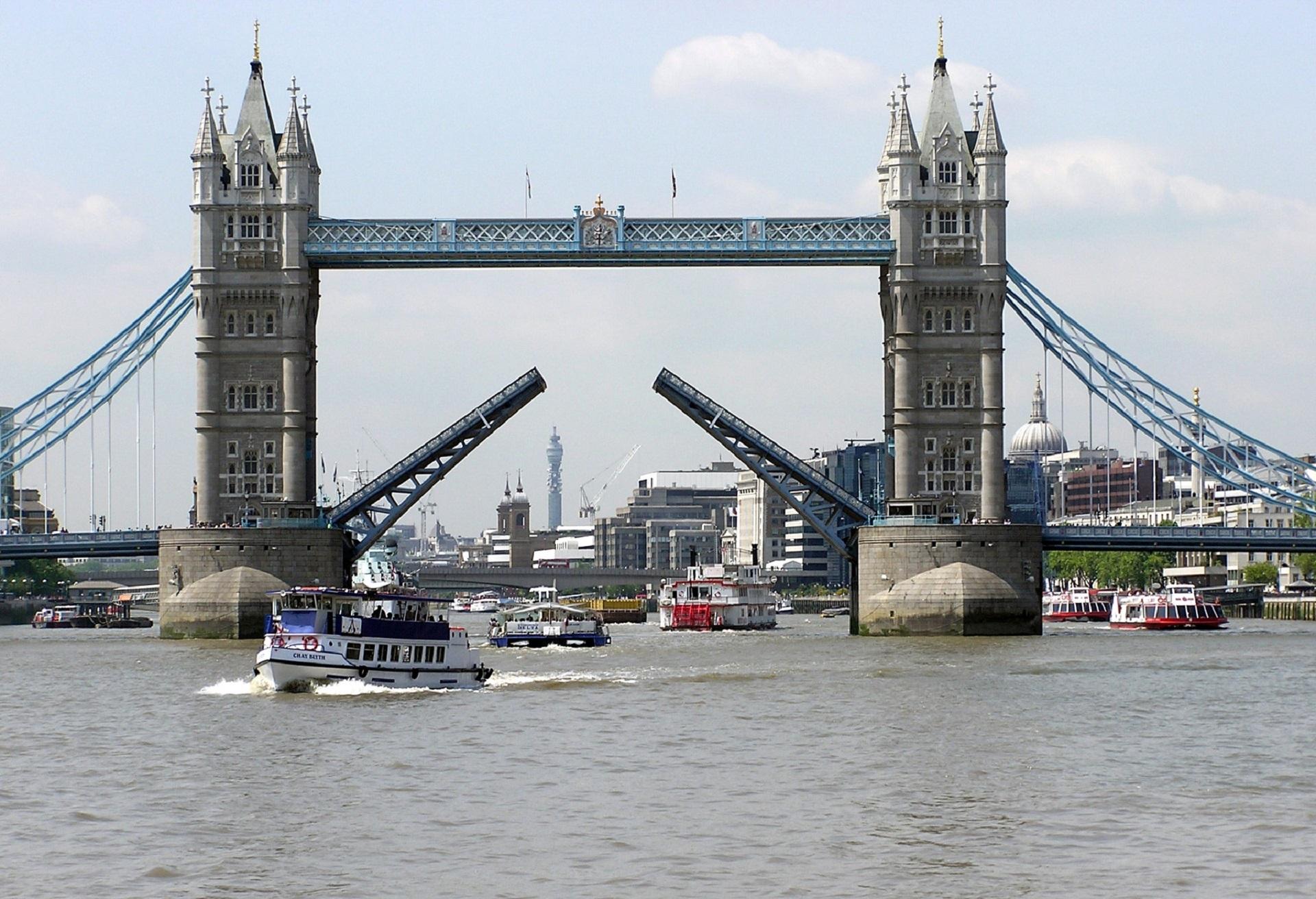 Tower bridge, Architecture, Bridge, City, Construction, HQ Photo