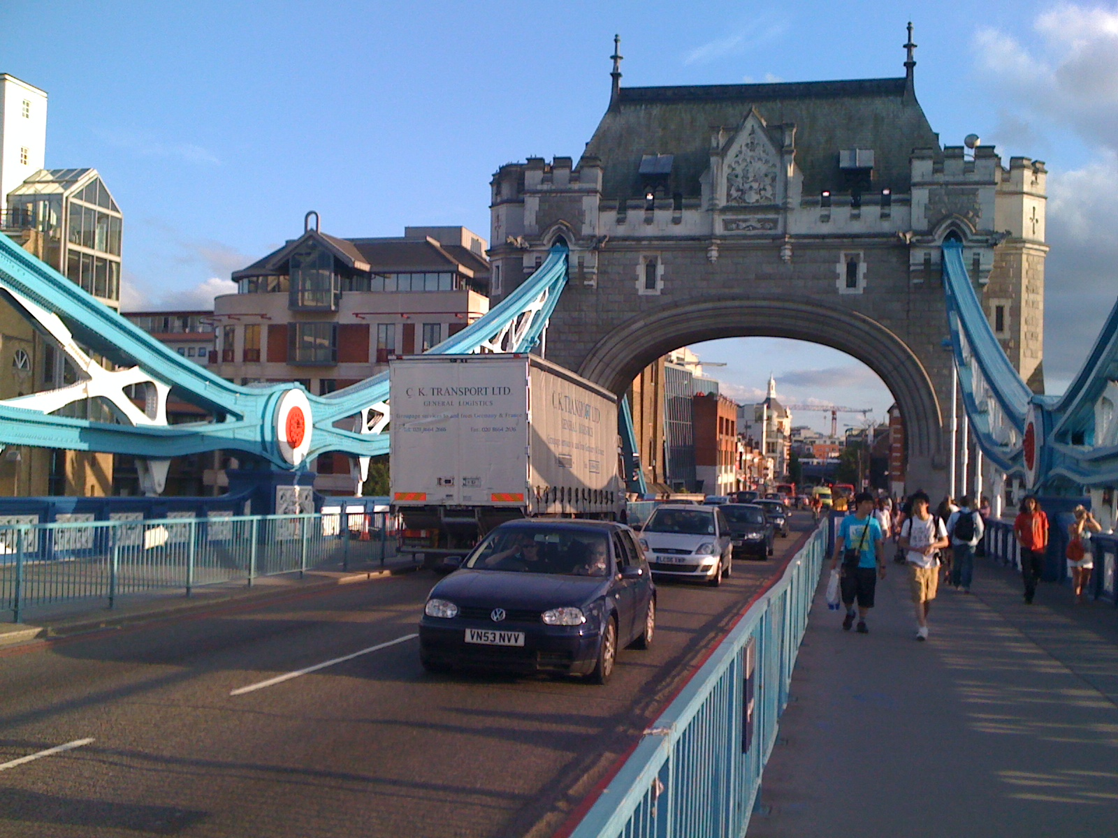 Tower Bridge, Bridge, Cars, Street, Structure, HQ Photo