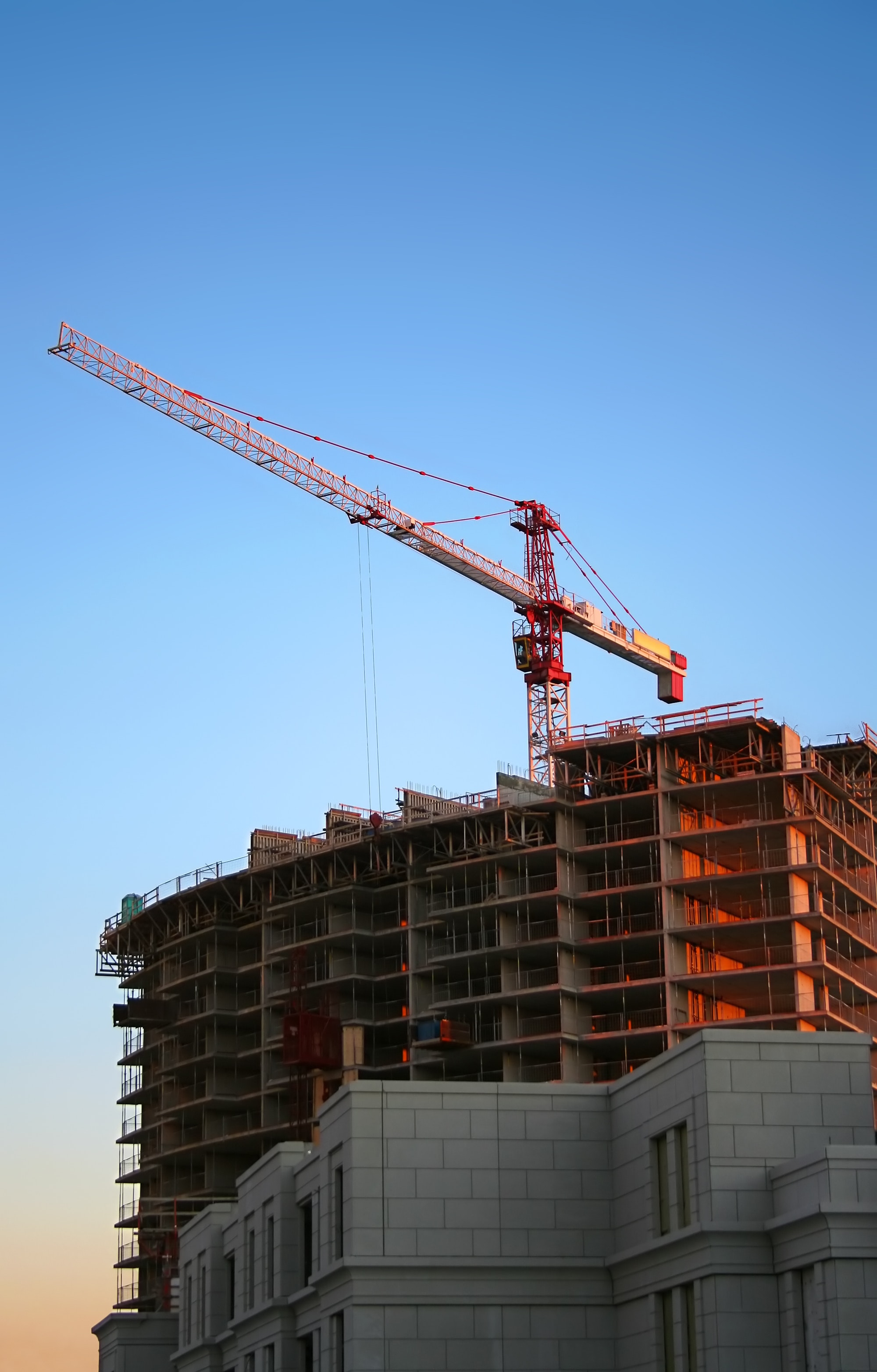 Tower Crane during Daytime, Building, Construction, Crane, HQ Photo