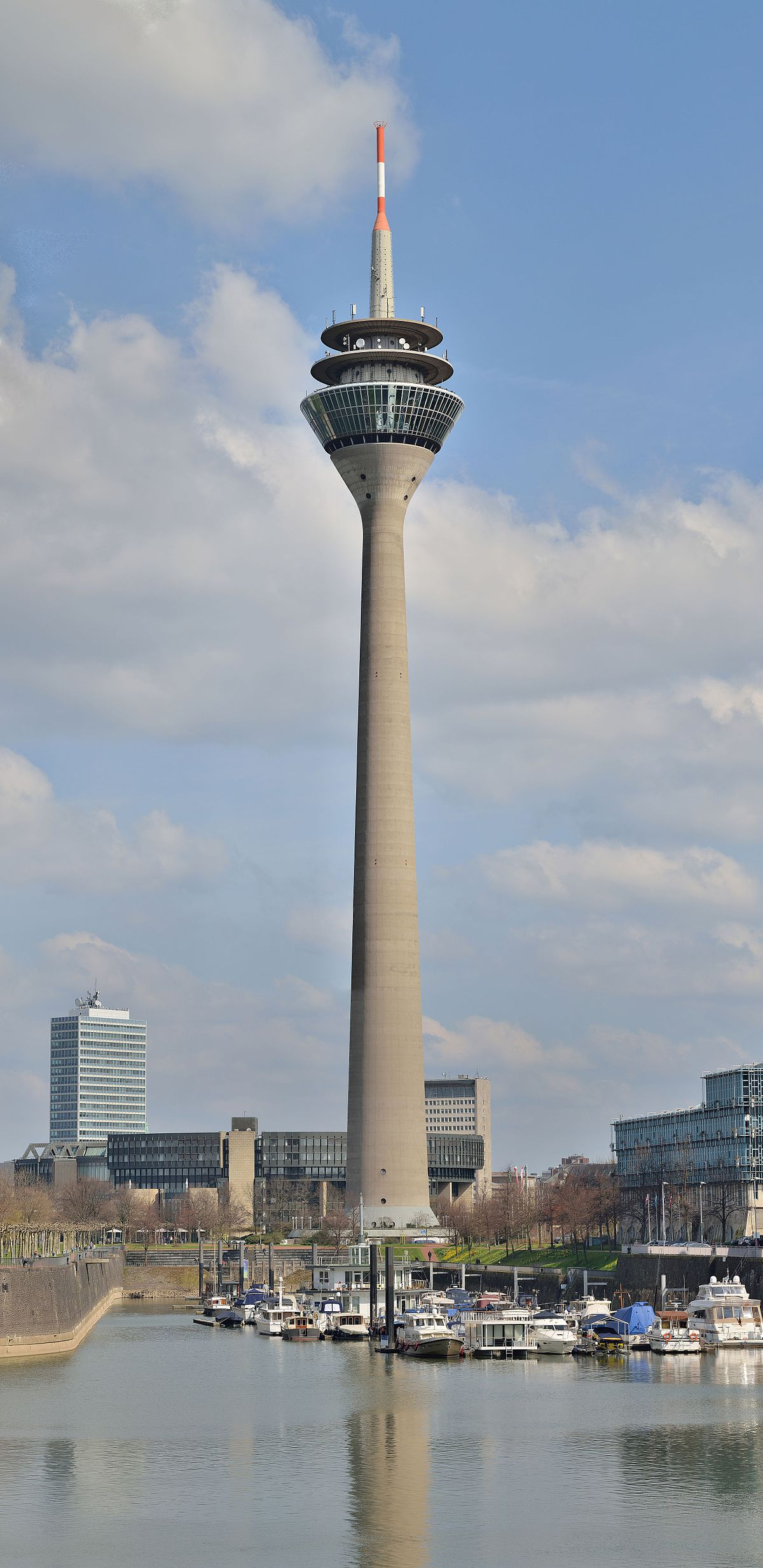 Tower in dusseldorf photo