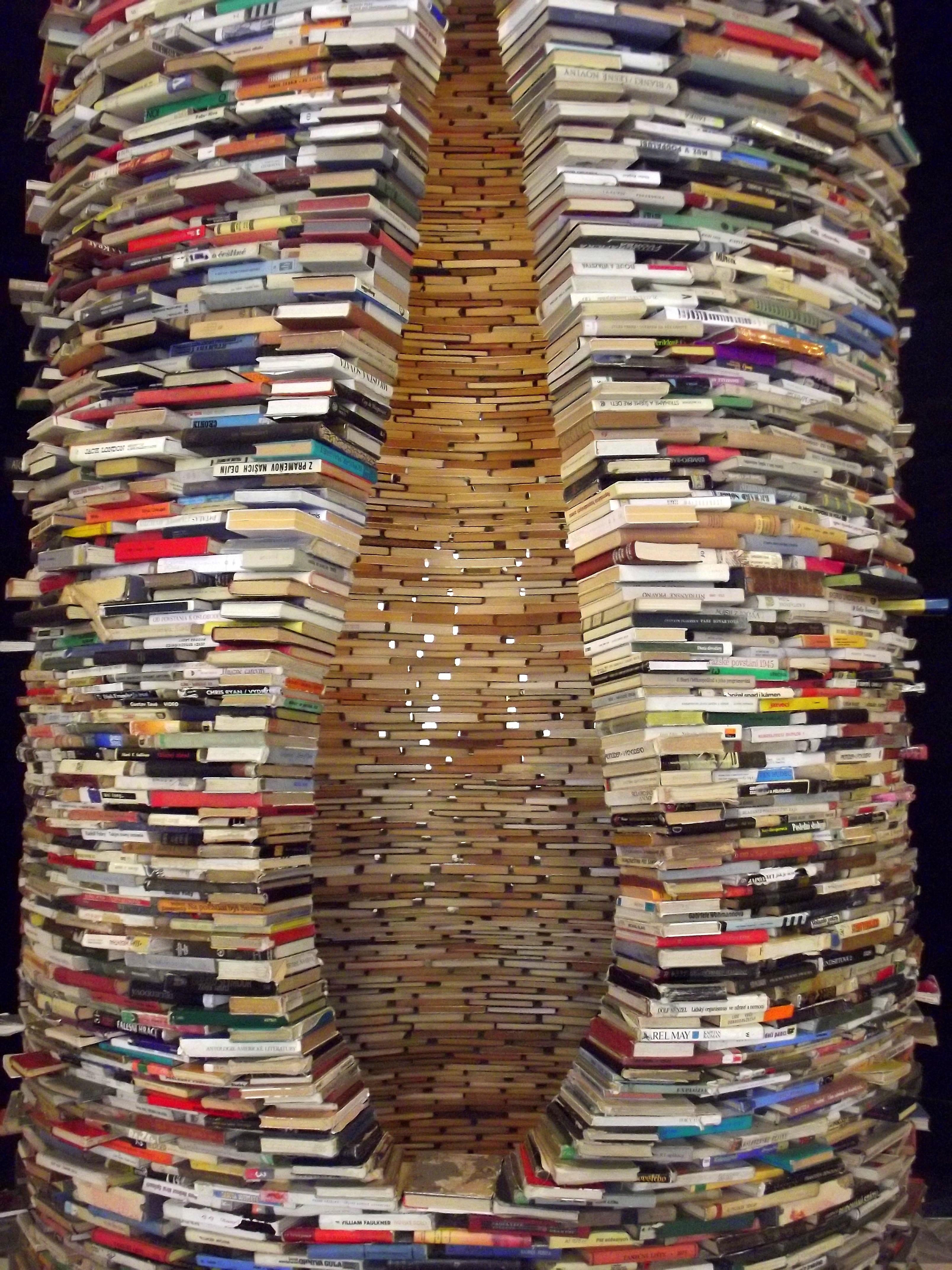 Matej Kren's Tower of Books, Prague | Author: Helen Cox