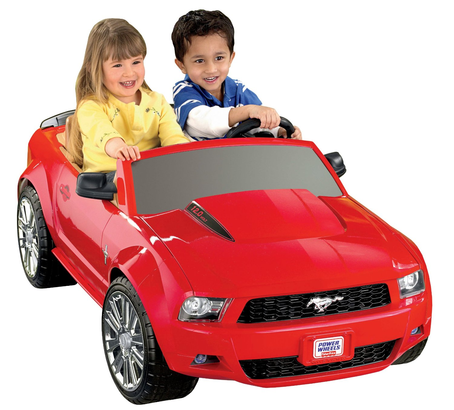 Power Wheels 12V Battery Toy Ride-On - Ford Mustang - Red