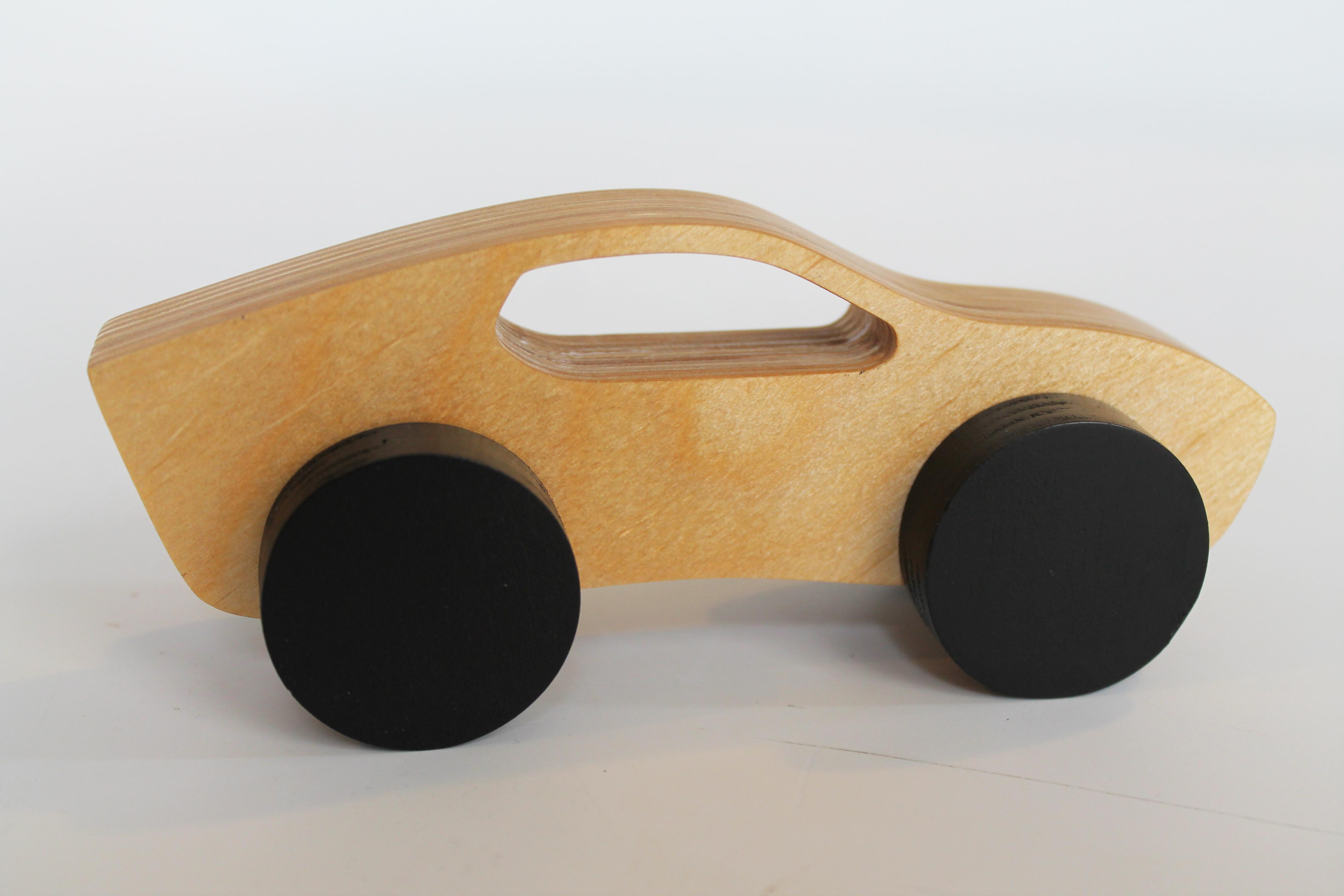 Bantmobile Wooden Toy Car – Bantam Tools