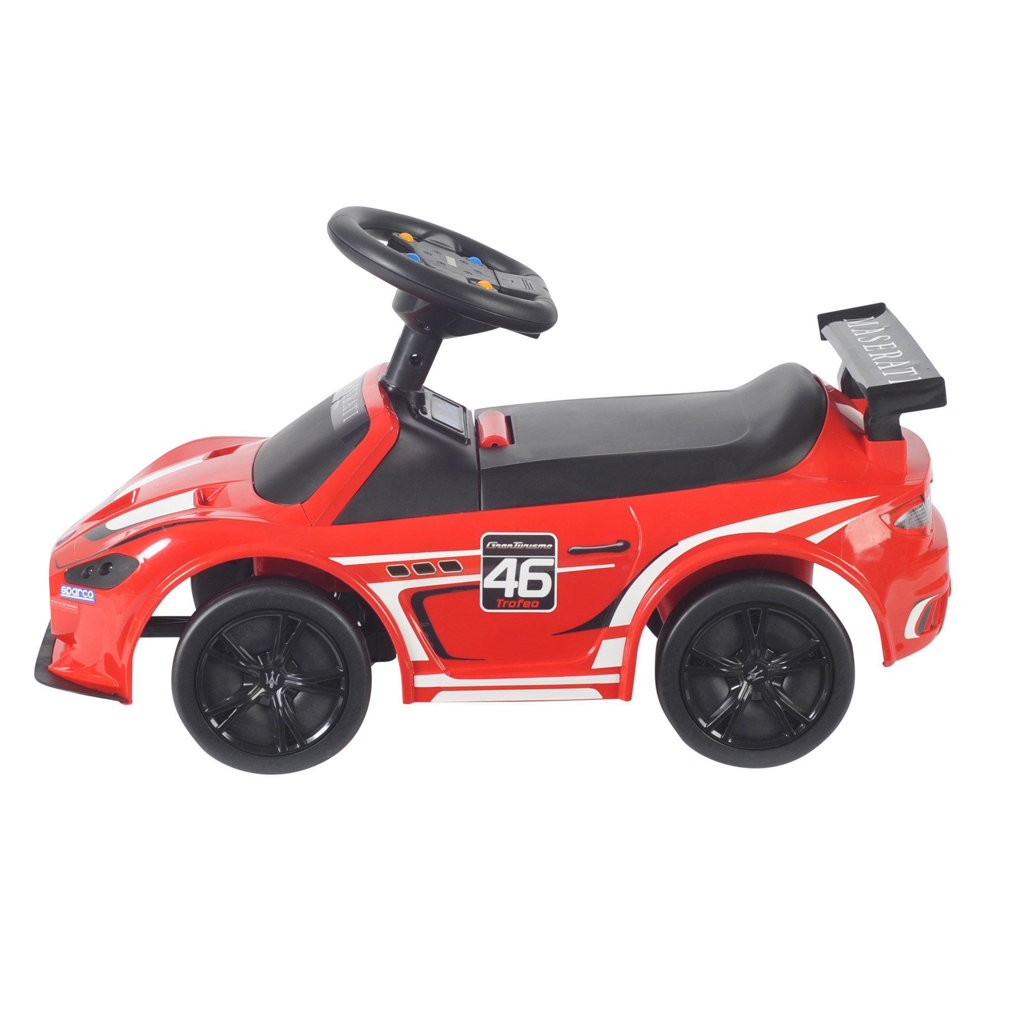 1:4 Maserati Trofeo Red Toy Car