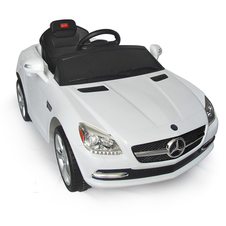 Amazon.com: Mercedes-Benz SLK Kids 6v Electric Battery Powered Ride ...