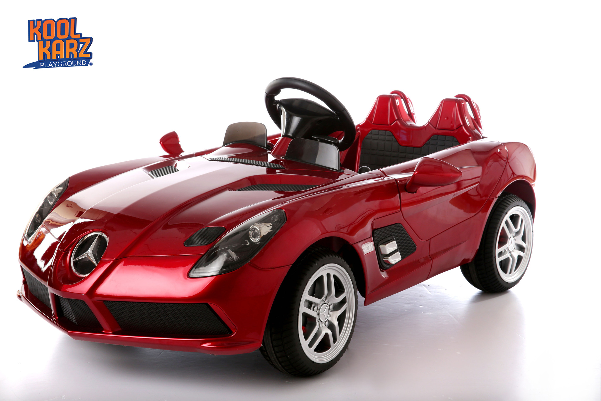 Kool Karz®Mercedes Benz SLR AMG Electric Ride On Toy Car – Kool Karz ...