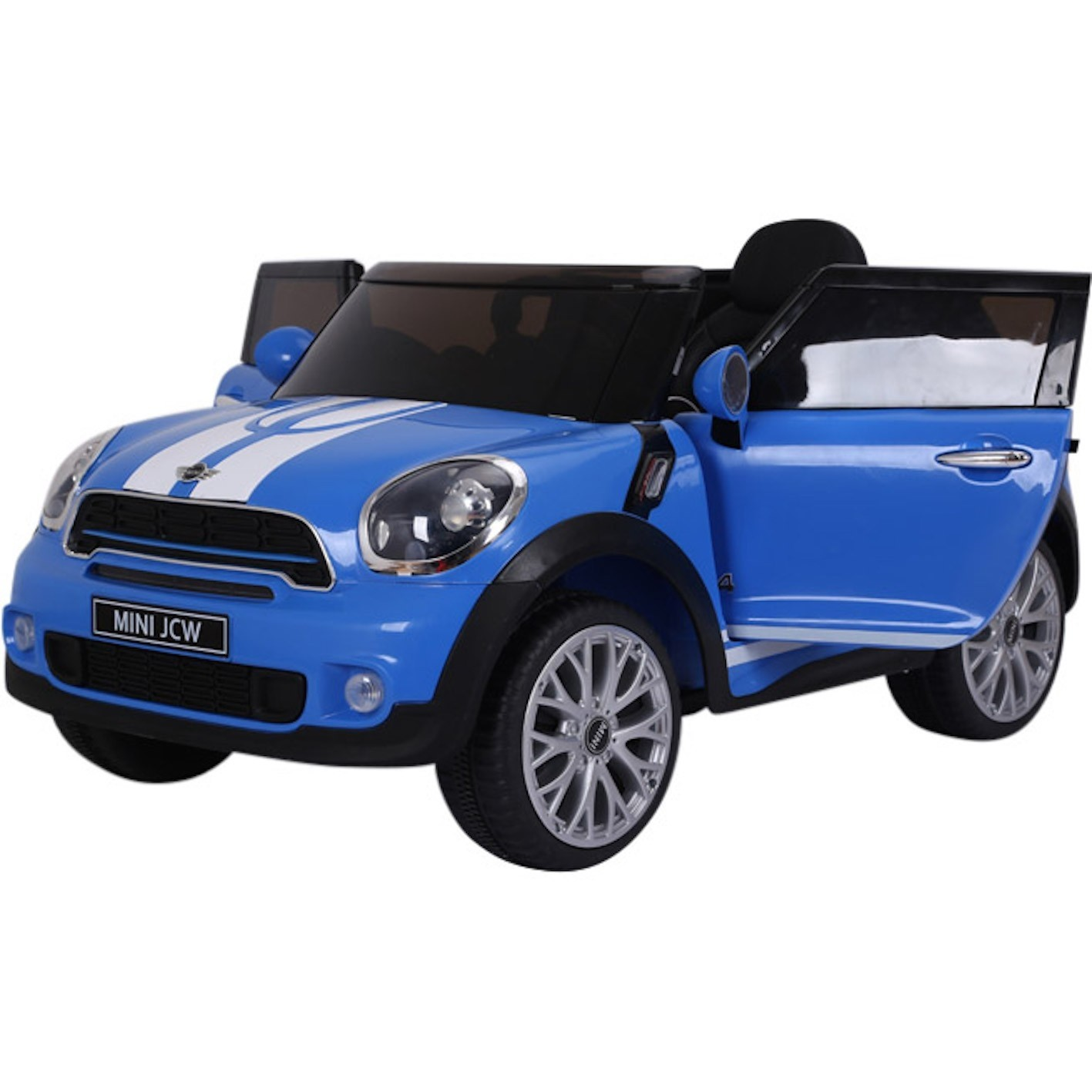 Mini Cooper Paceman Licensed 12V Children's Ride-On Toy Car - Blue