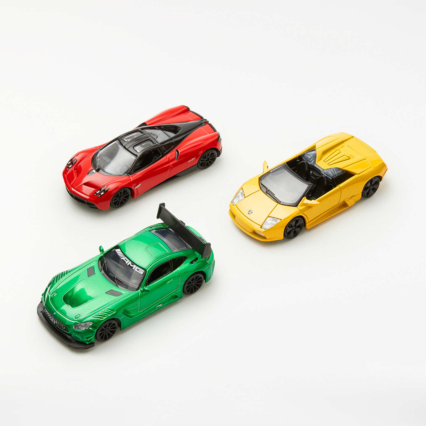 John Lewis 1:43 Performance Sport Die-cast Toy Cars, Pack of 3 at ...