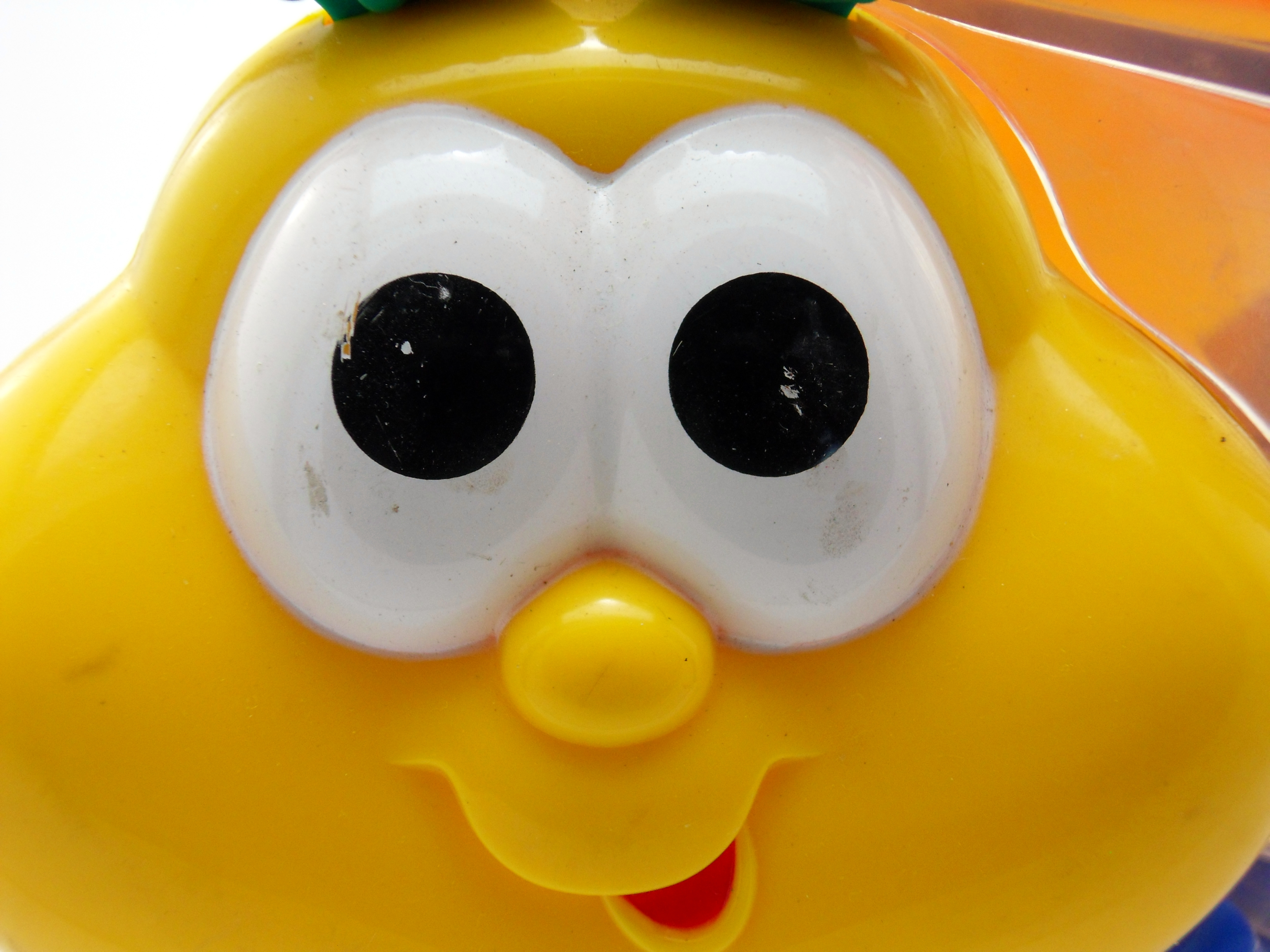 Toy close up photo